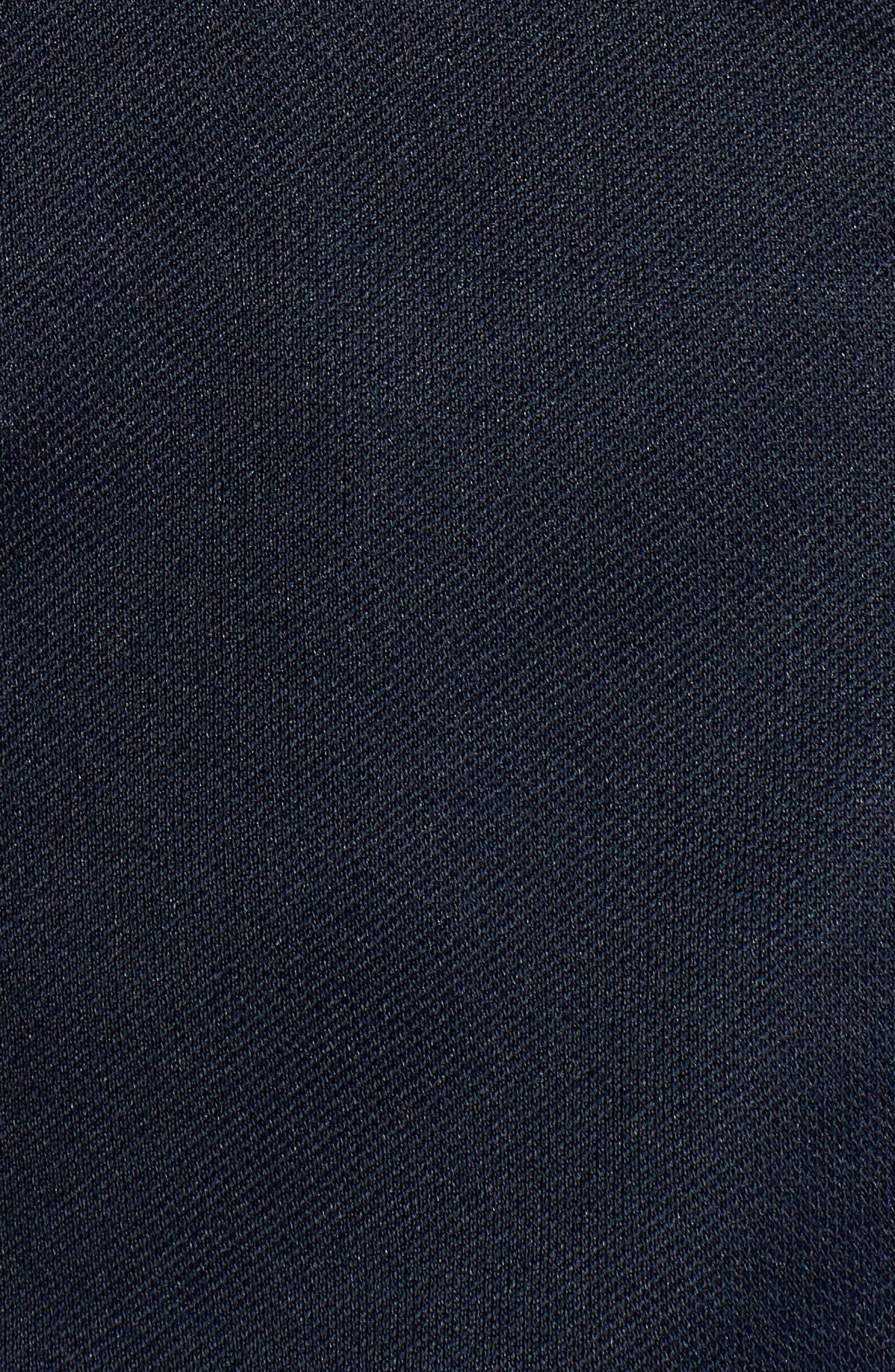 Stripe Track Jacket,                             Alternate thumbnail 5, color,                             Dark Sapphire