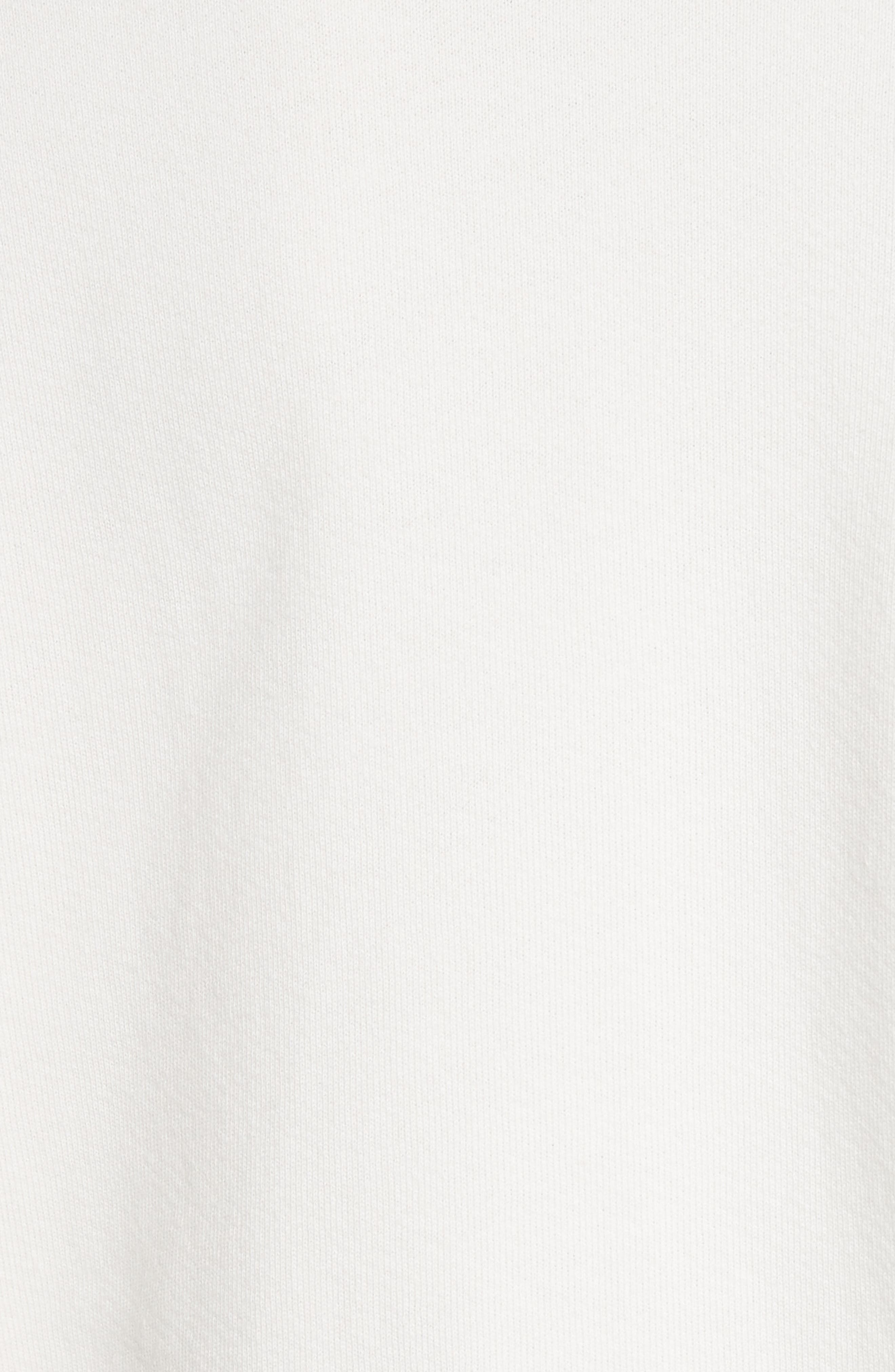 Logo Sweatshirt,                             Alternate thumbnail 6, color,                             Off White