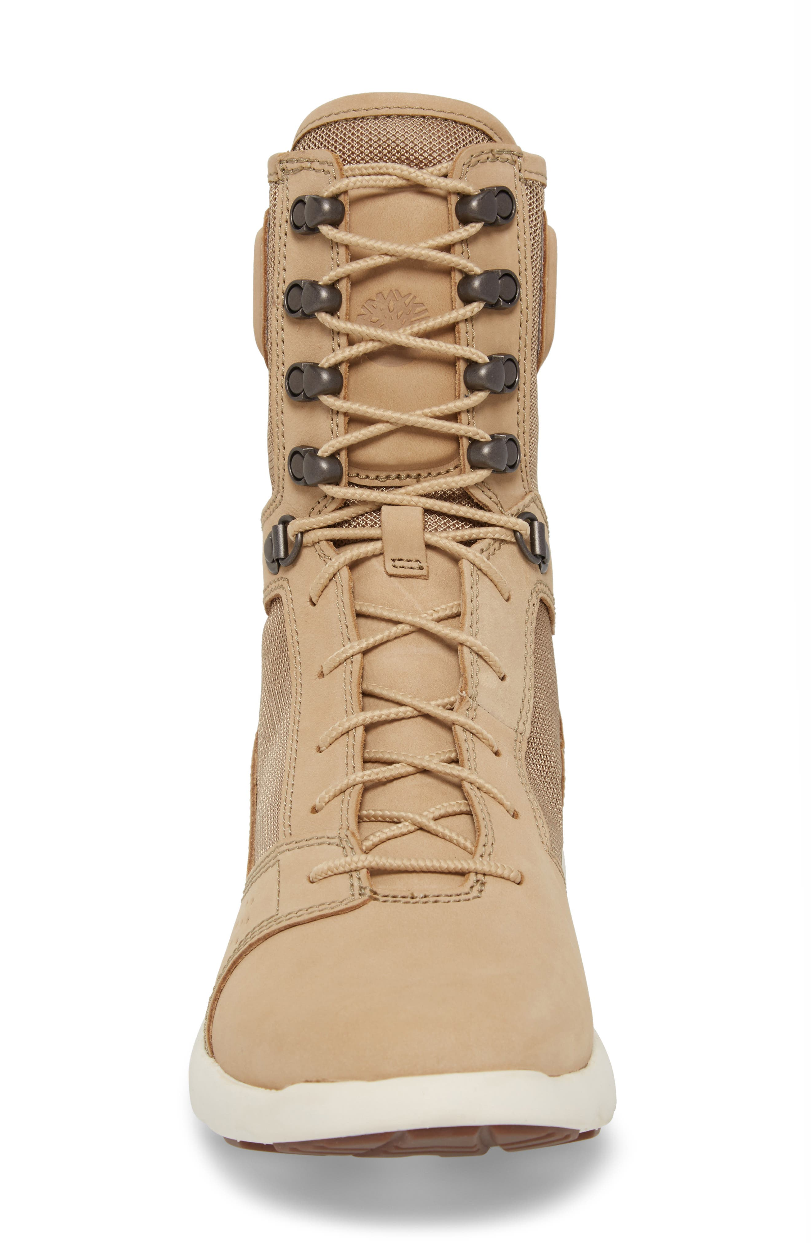 FlyRoam Tactical Boot,                             Alternate thumbnail 4, color,                             Cornstalk Nubuck Leather