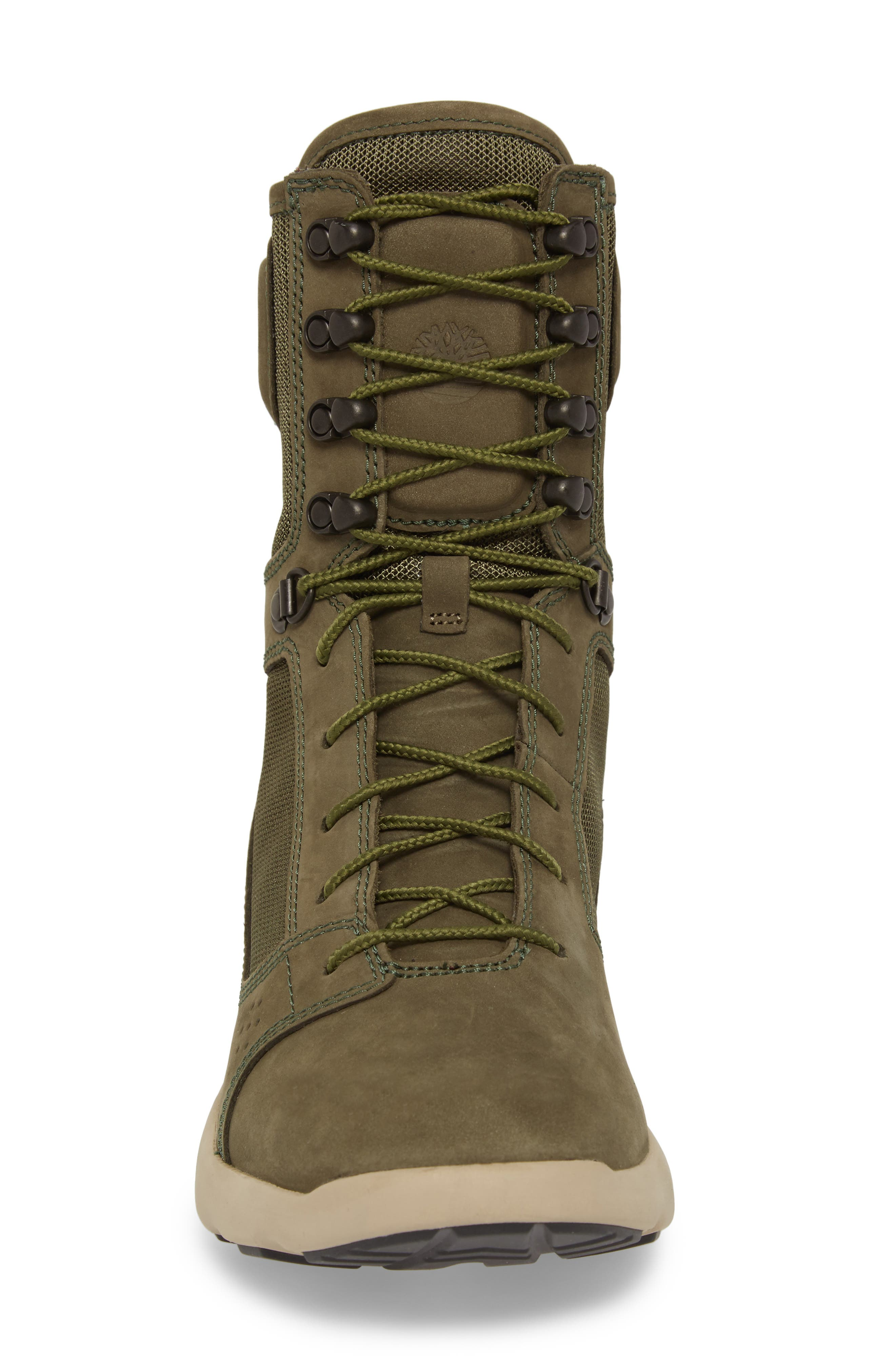 FlyRoam Tactical Boot,                             Alternate thumbnail 4, color,                             Grape Leaf Nubuck Leather