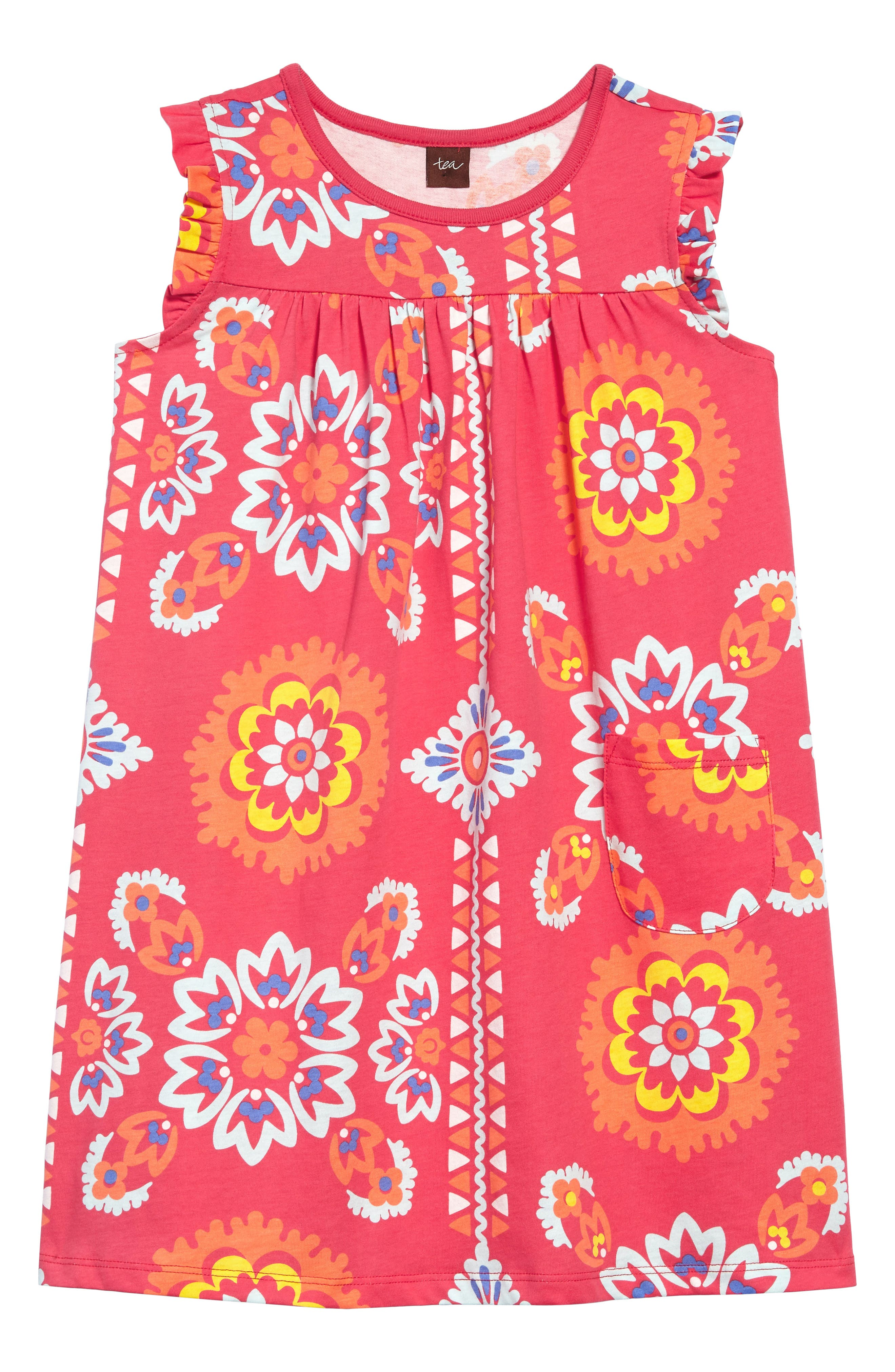 Tea Collection Mighty Mini Dress (Toddler Girls, Little Girls & Big Girls)