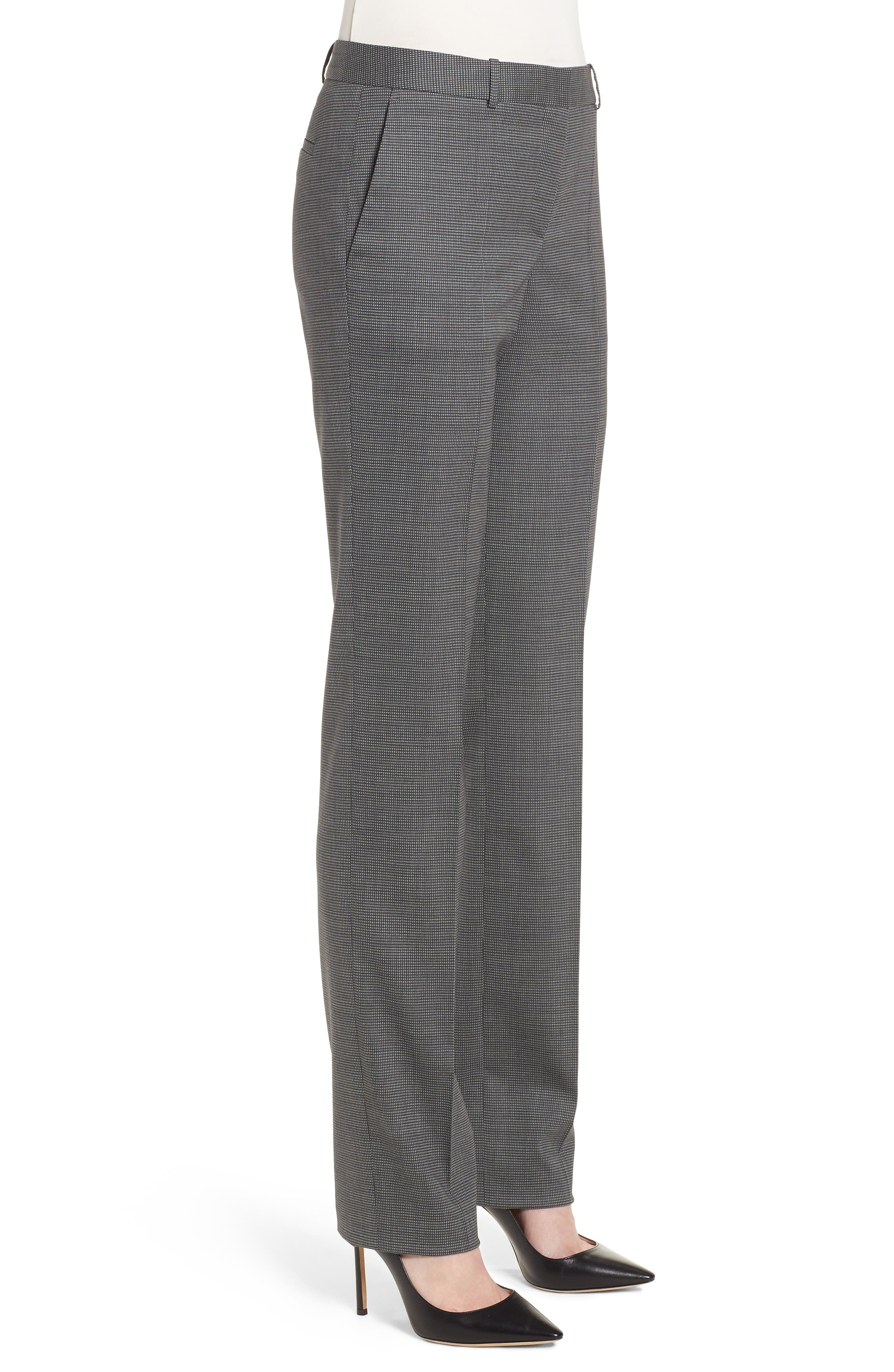Tamea Minidessin Trousers,                             Alternate thumbnail 3, color,                             Cozy Grey Fantasy