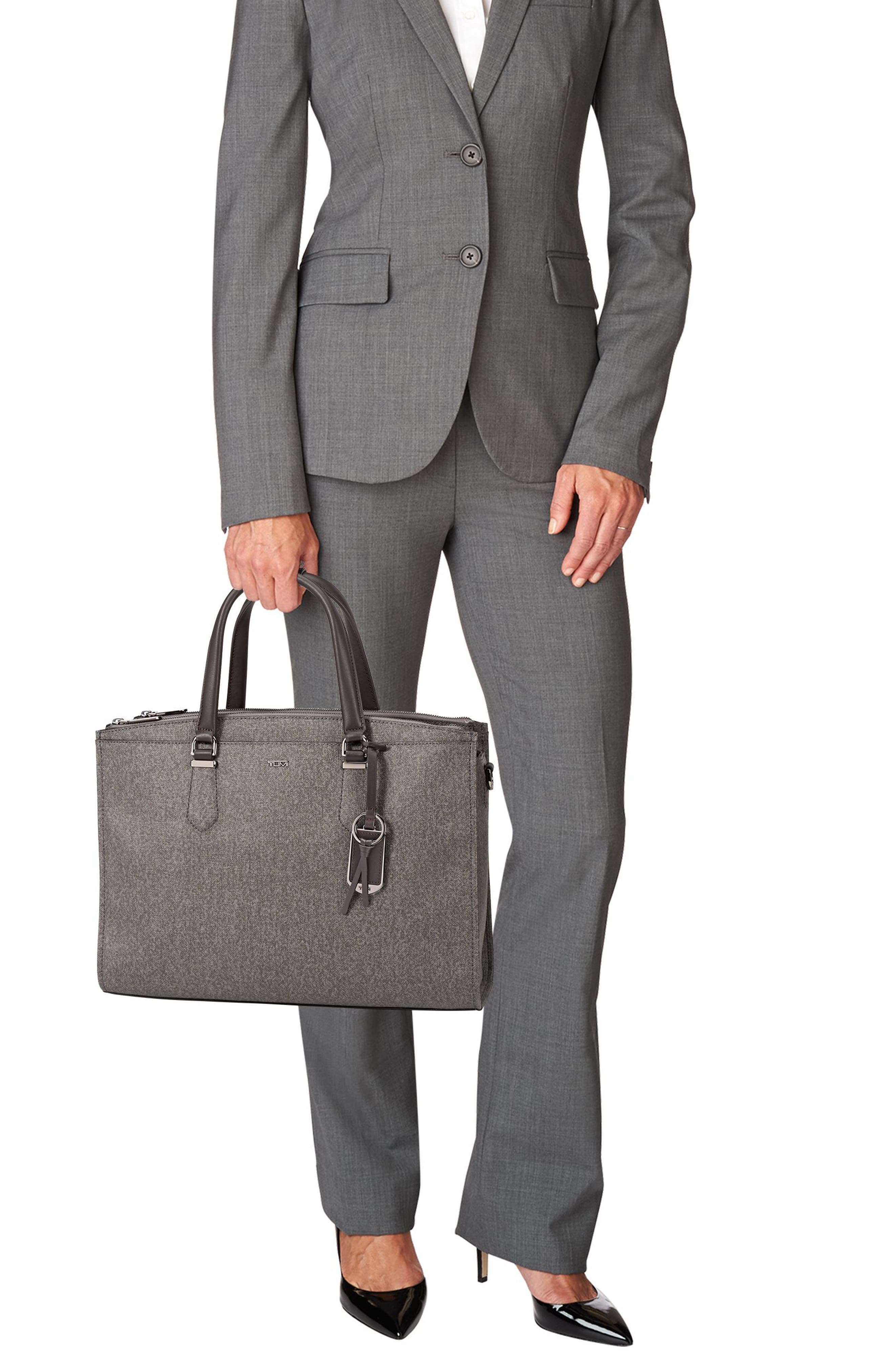 Stanton – Esme Business Briefcase,                             Alternate thumbnail 2, color,                             Earl Grey