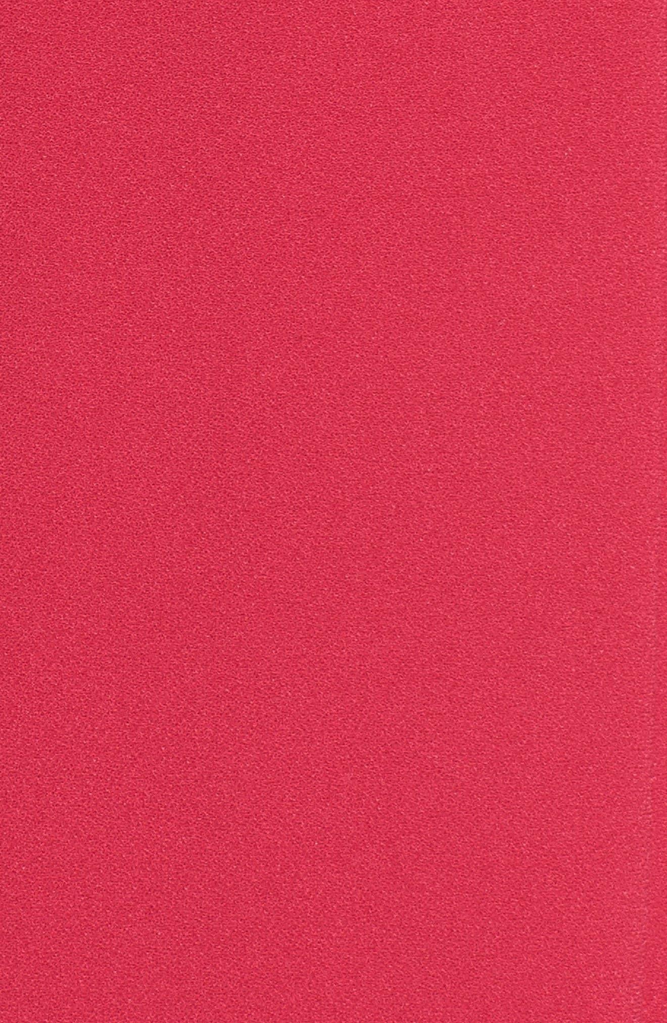 Alternate Image 5  - Tahari Scallop Neck A-Line Dress (Plus Size)