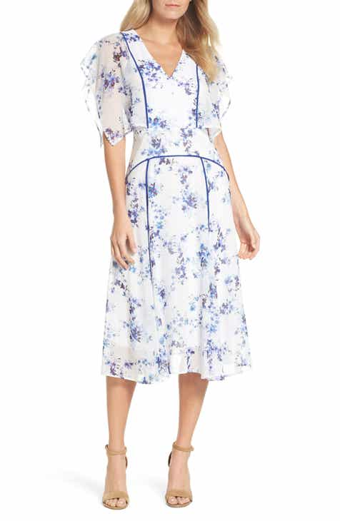 White floral dress mightylinksfo