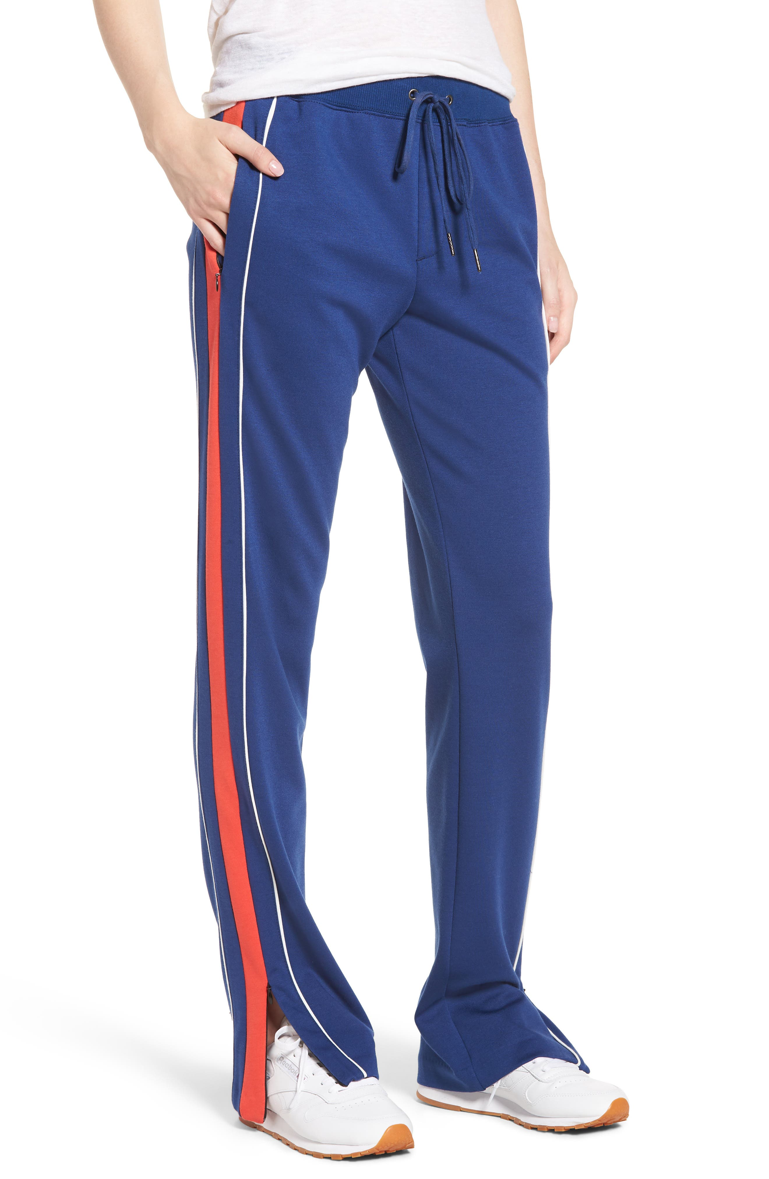 Pam & Gela Colorblock Stripe Sport Pants