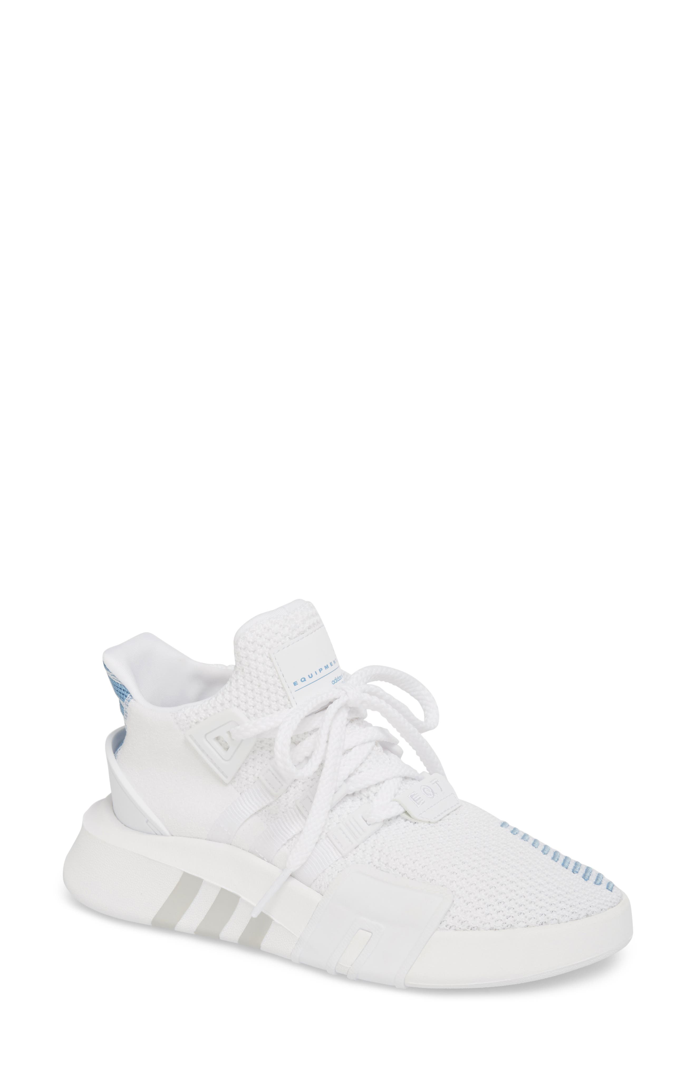 EQT Basketball ADV Sneaker,                             Main thumbnail 1, color,                             White/ White/ Ash Blue