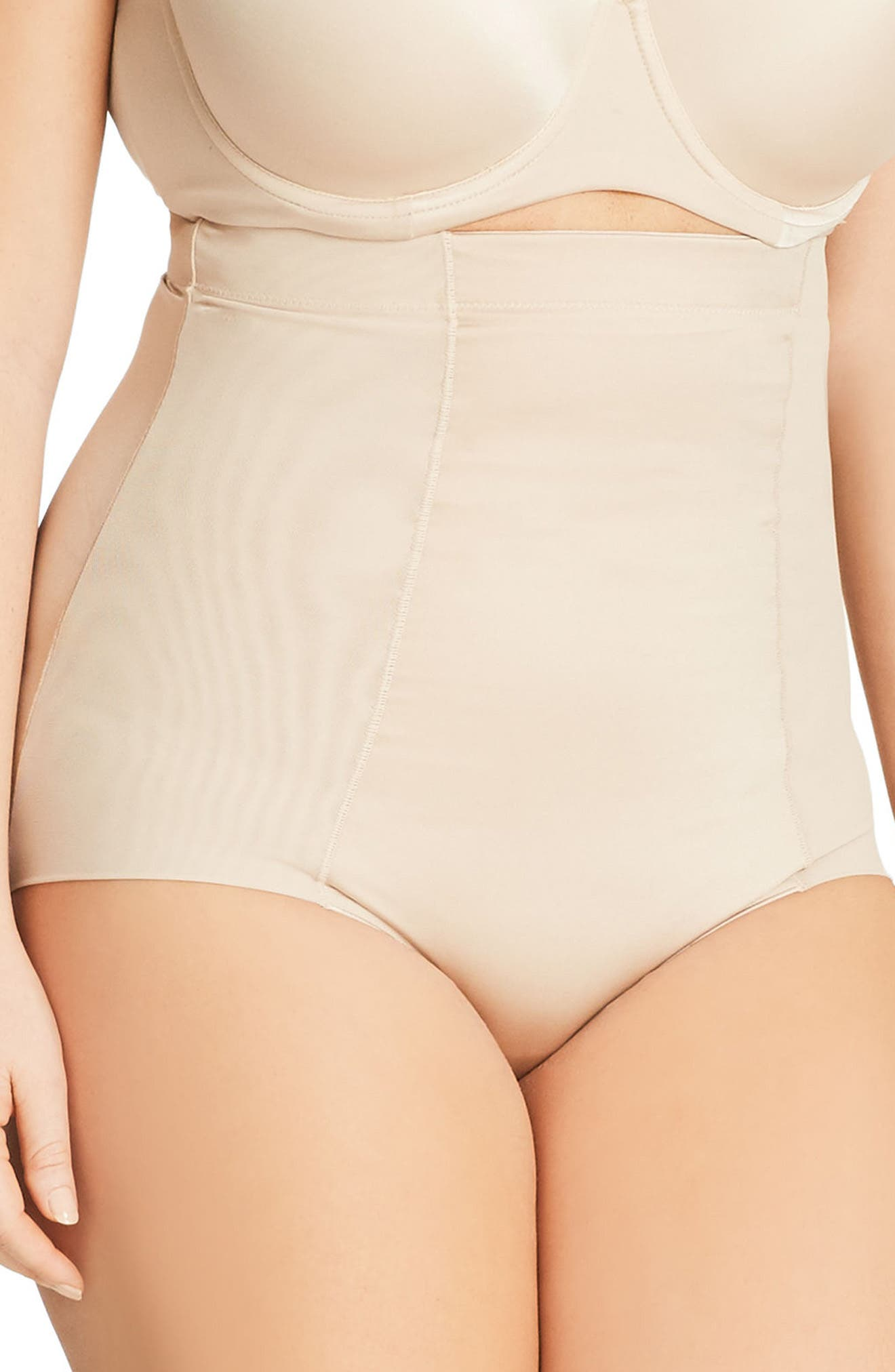Smooth & Chic Control Briefs,                             Alternate thumbnail 3, color,                             Latte