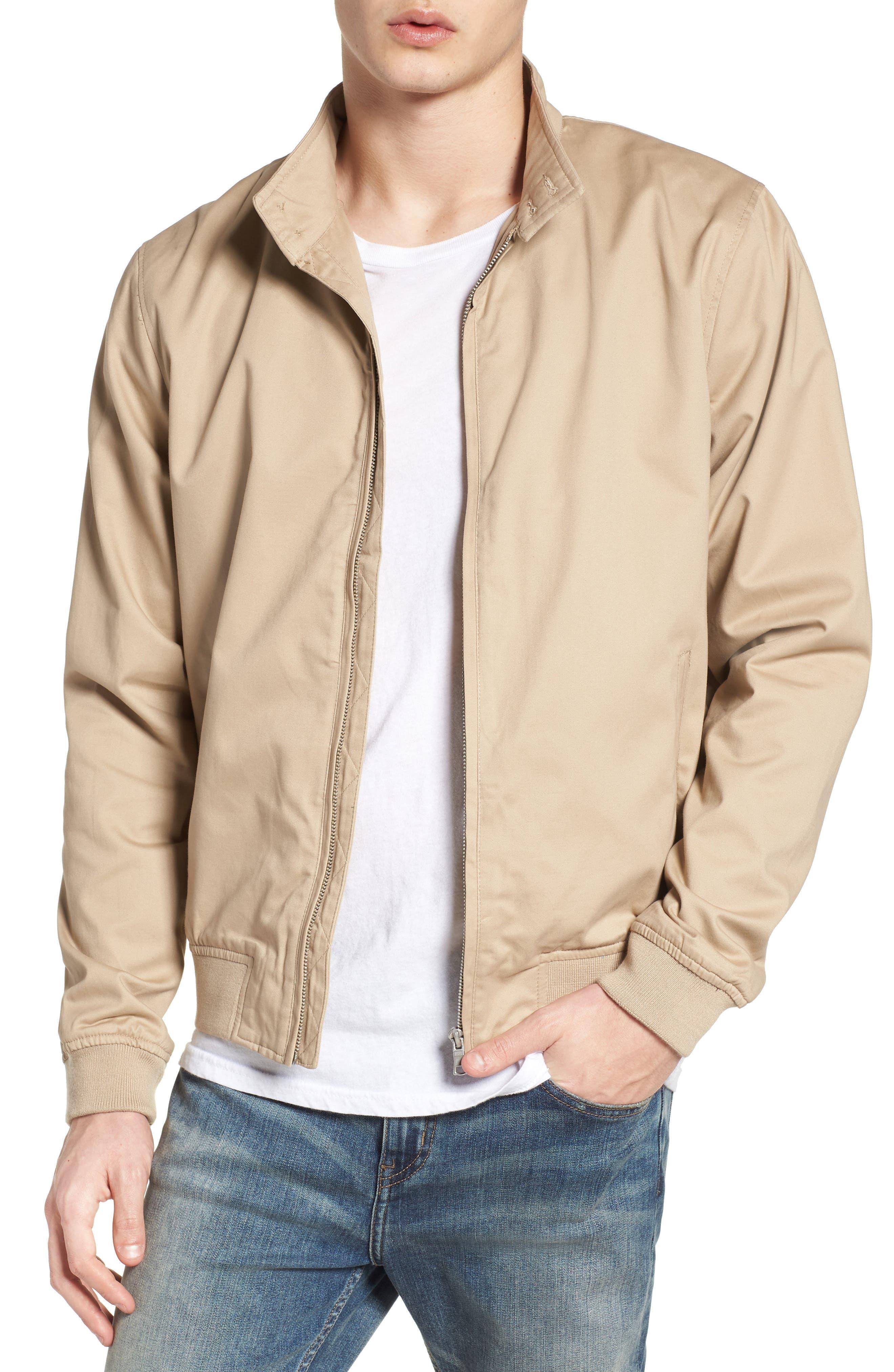 Main Image - Topman Harrington Jacket