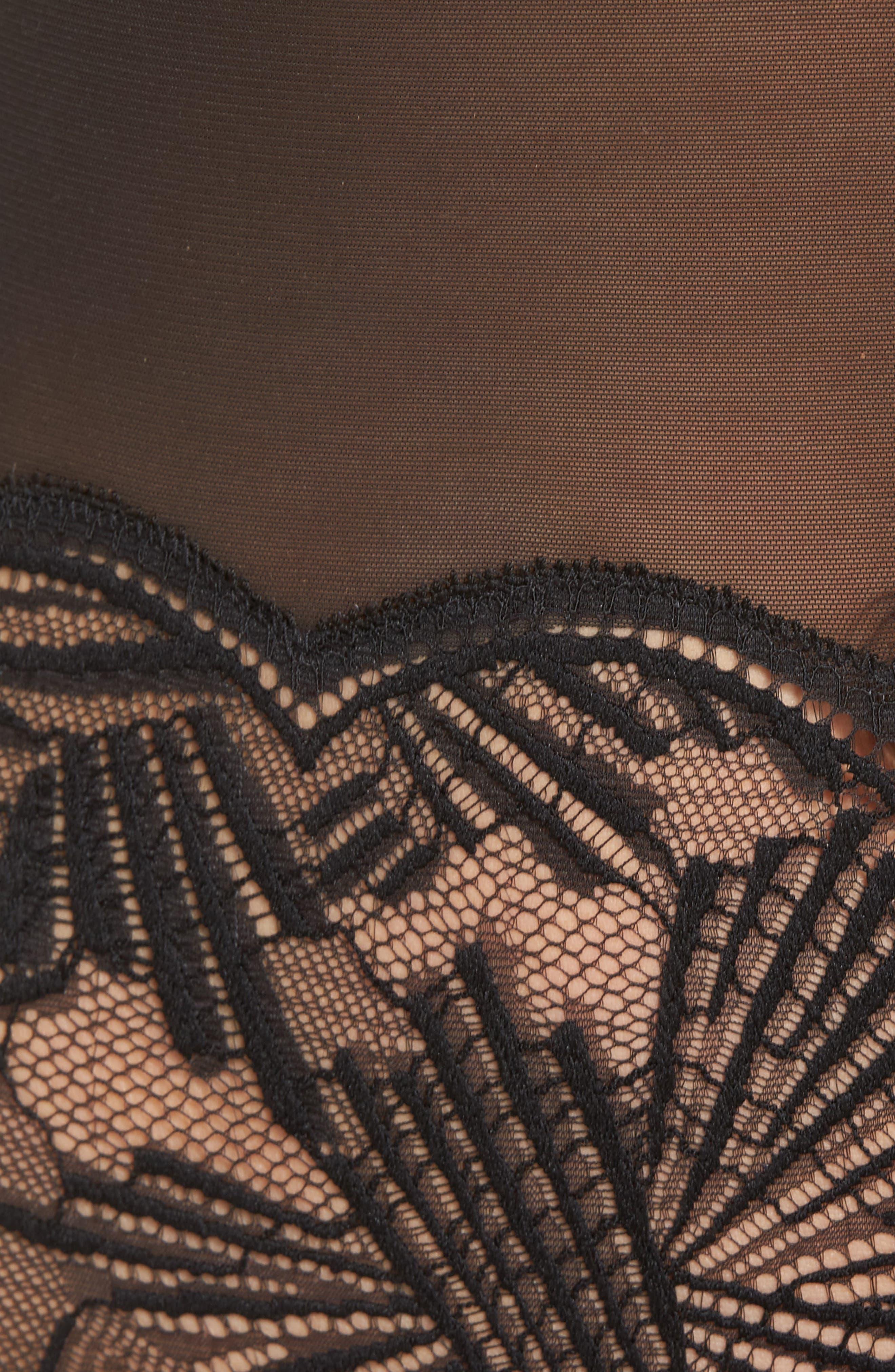 PF Slipcover Bodysuit,                             Alternate thumbnail 7, color,                             Black