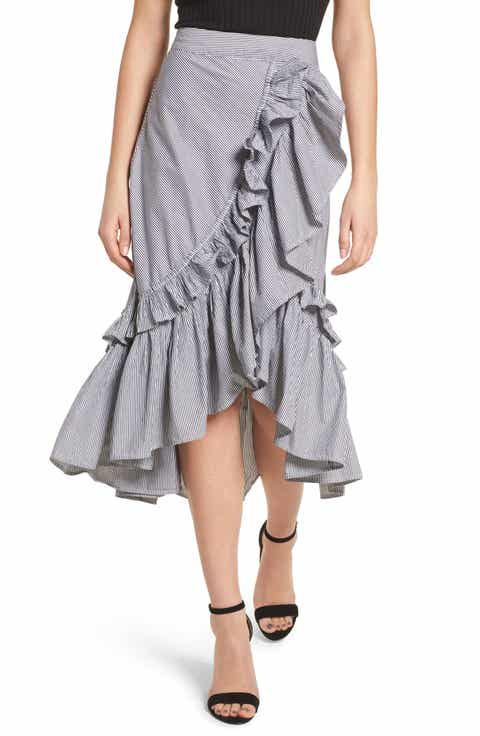 BP. Flounce Ruffle Trim Skirt Reviews