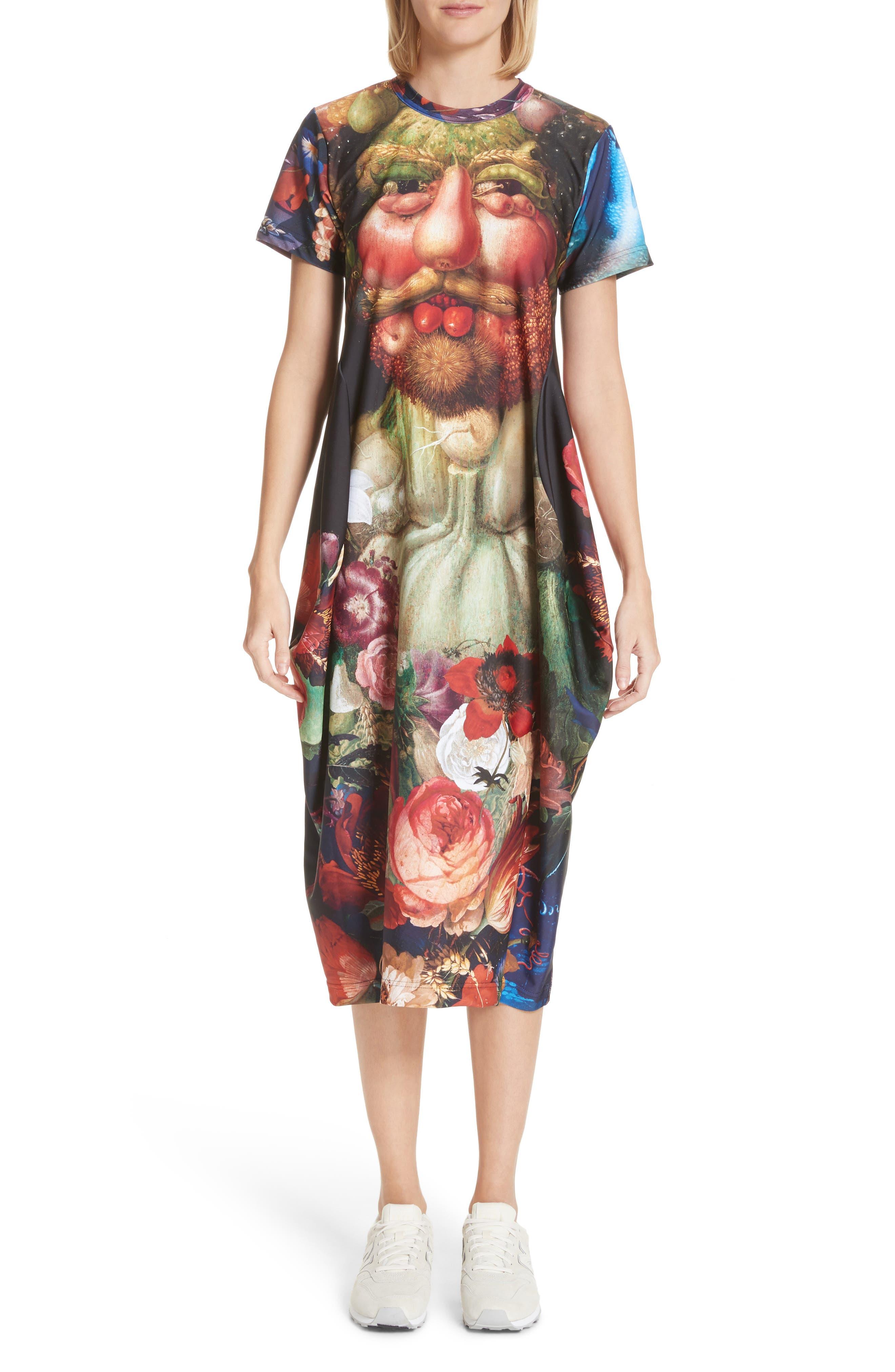 Comme des Garçons Vertumnus Print Dress