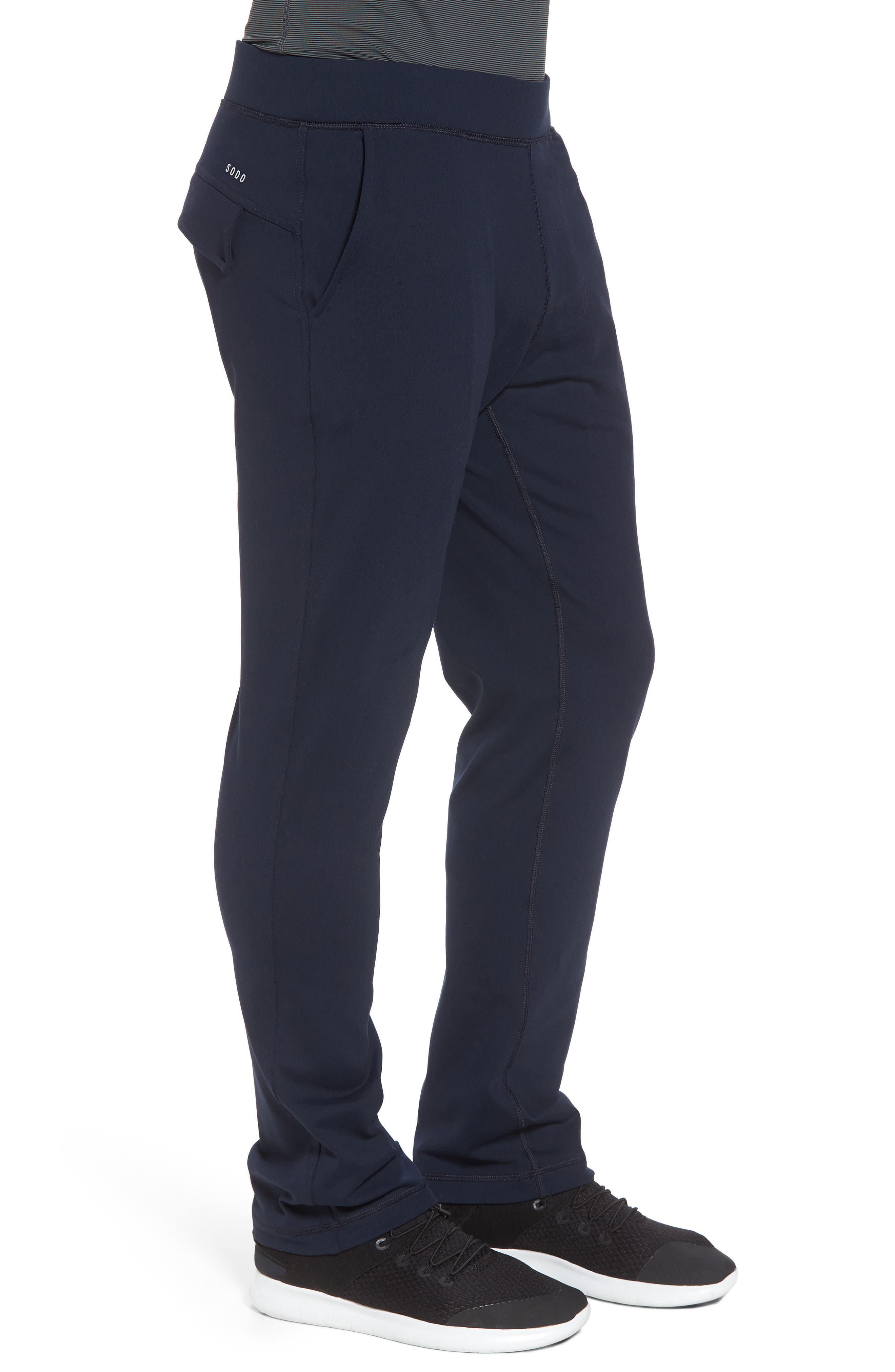 206 Pants,                             Alternate thumbnail 3, color,                             Navy