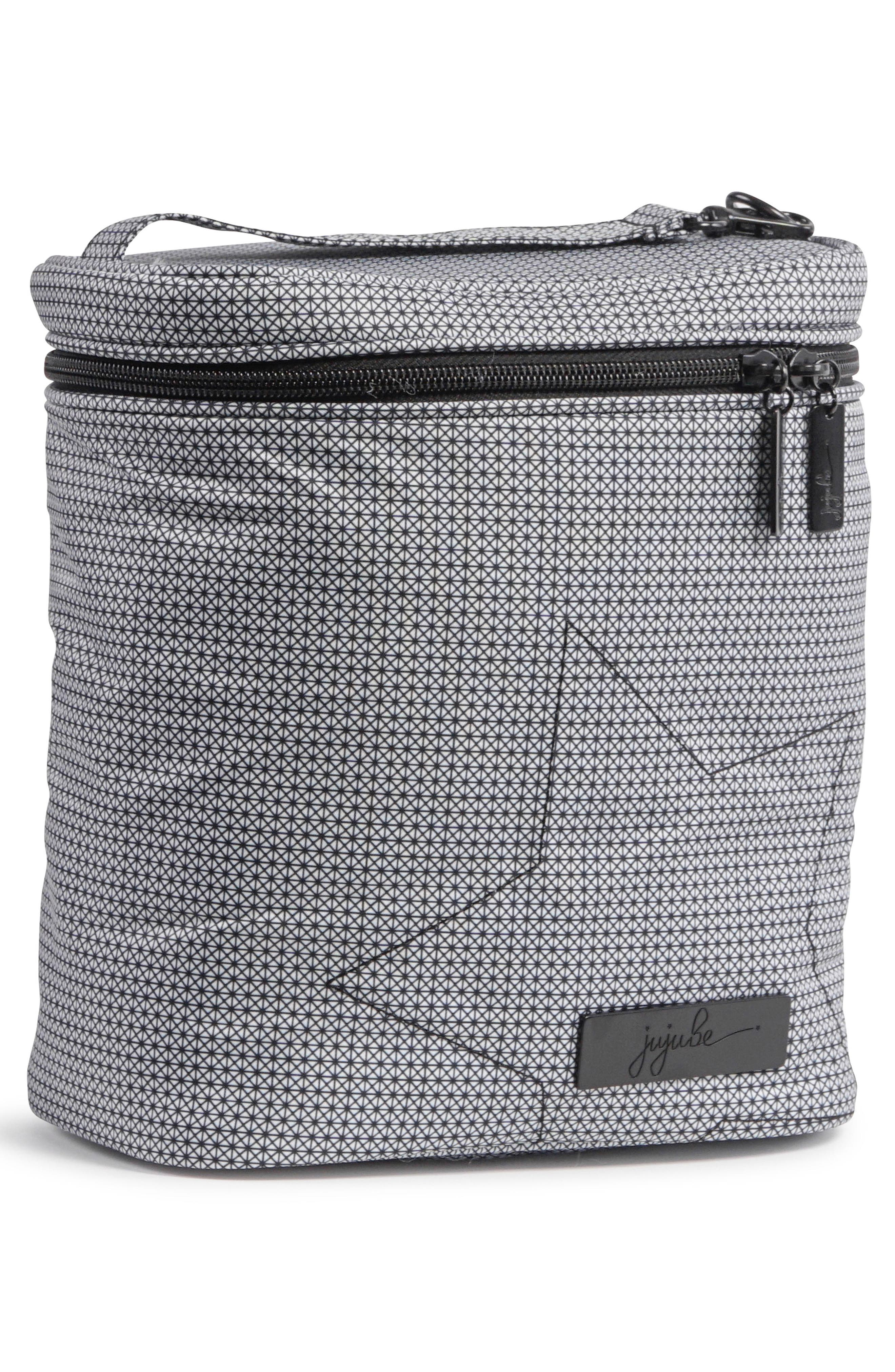 'Fuel Cell - Onyx Collection' Lunch Bag,                             Alternate thumbnail 2, color,                             Black Matrix