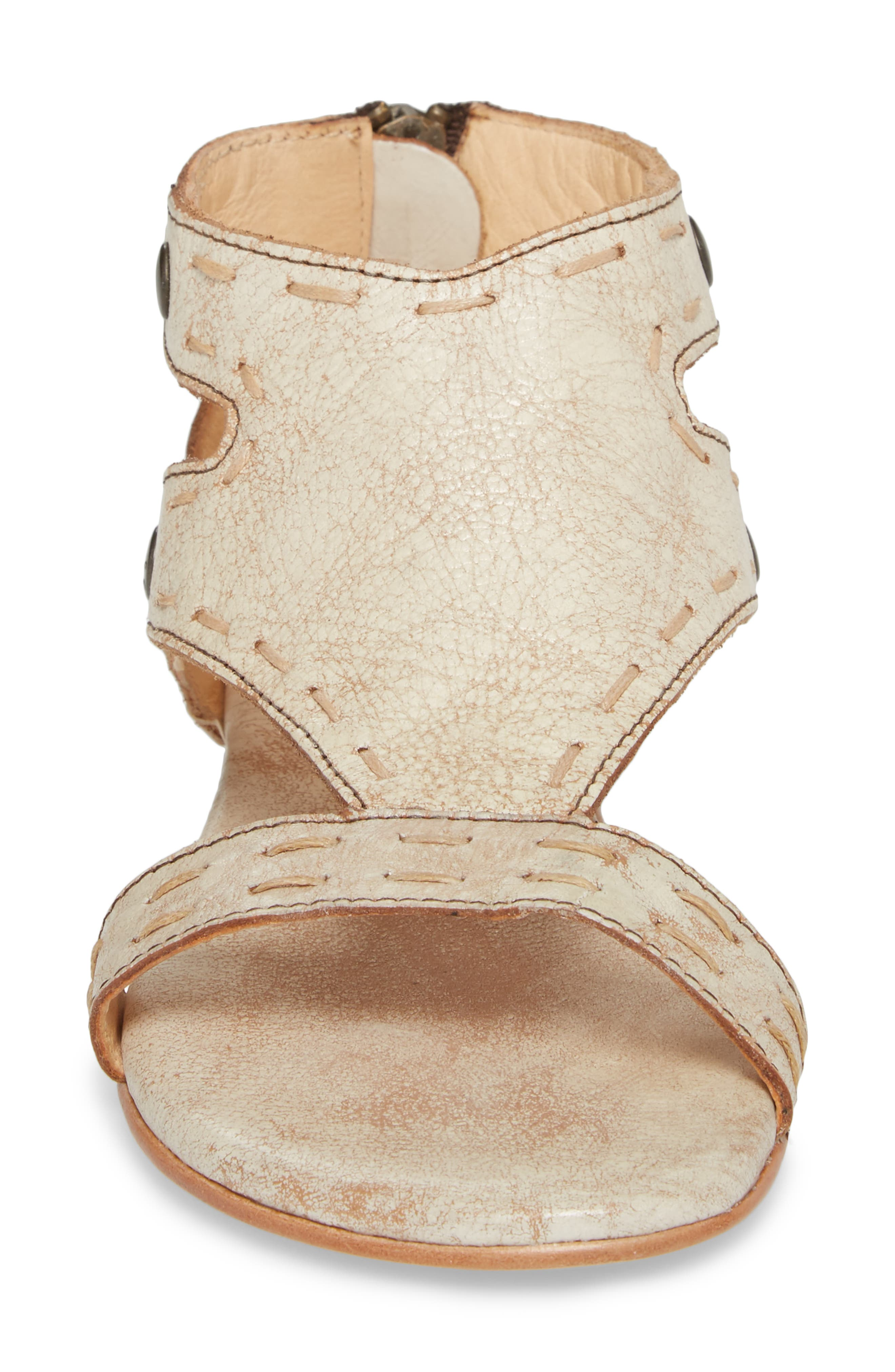 Soto Sandal,                             Alternate thumbnail 4, color,                             Nectar Leather
