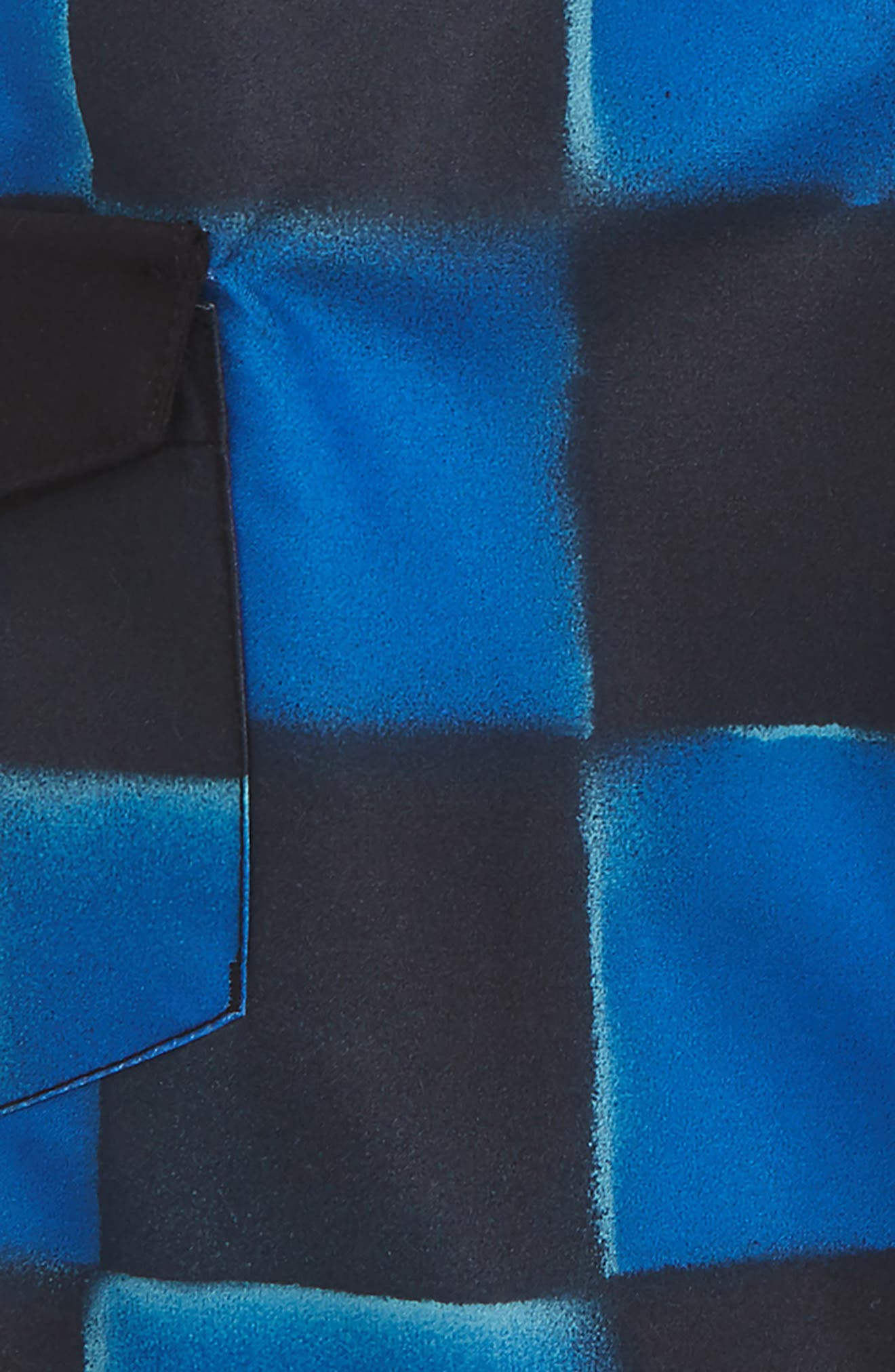 Check Yourself II Board Shorts,                             Alternate thumbnail 2, color,                             Victoria Blue