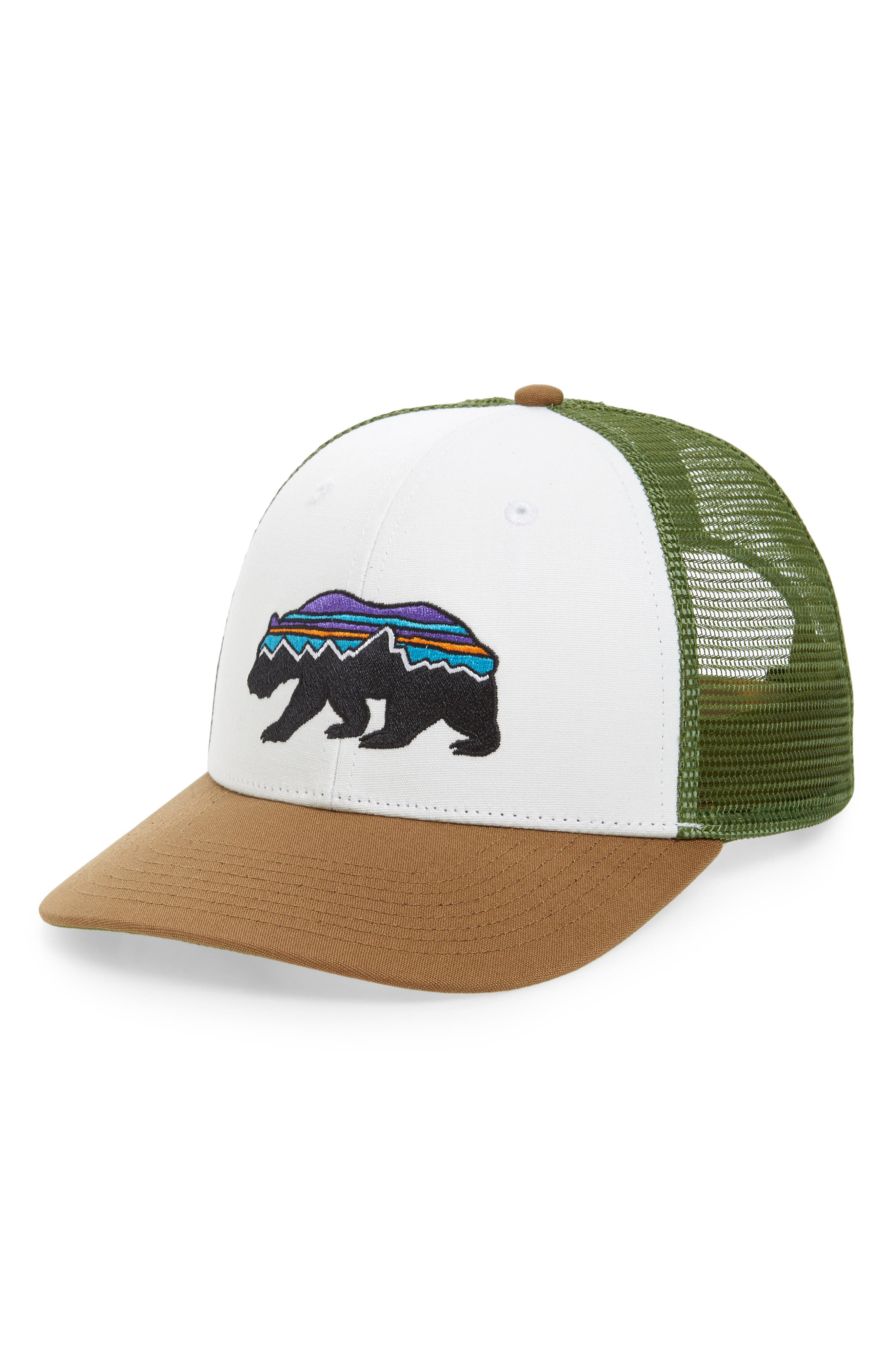 Patagonia Fitz Roy Bear Trucker Cap