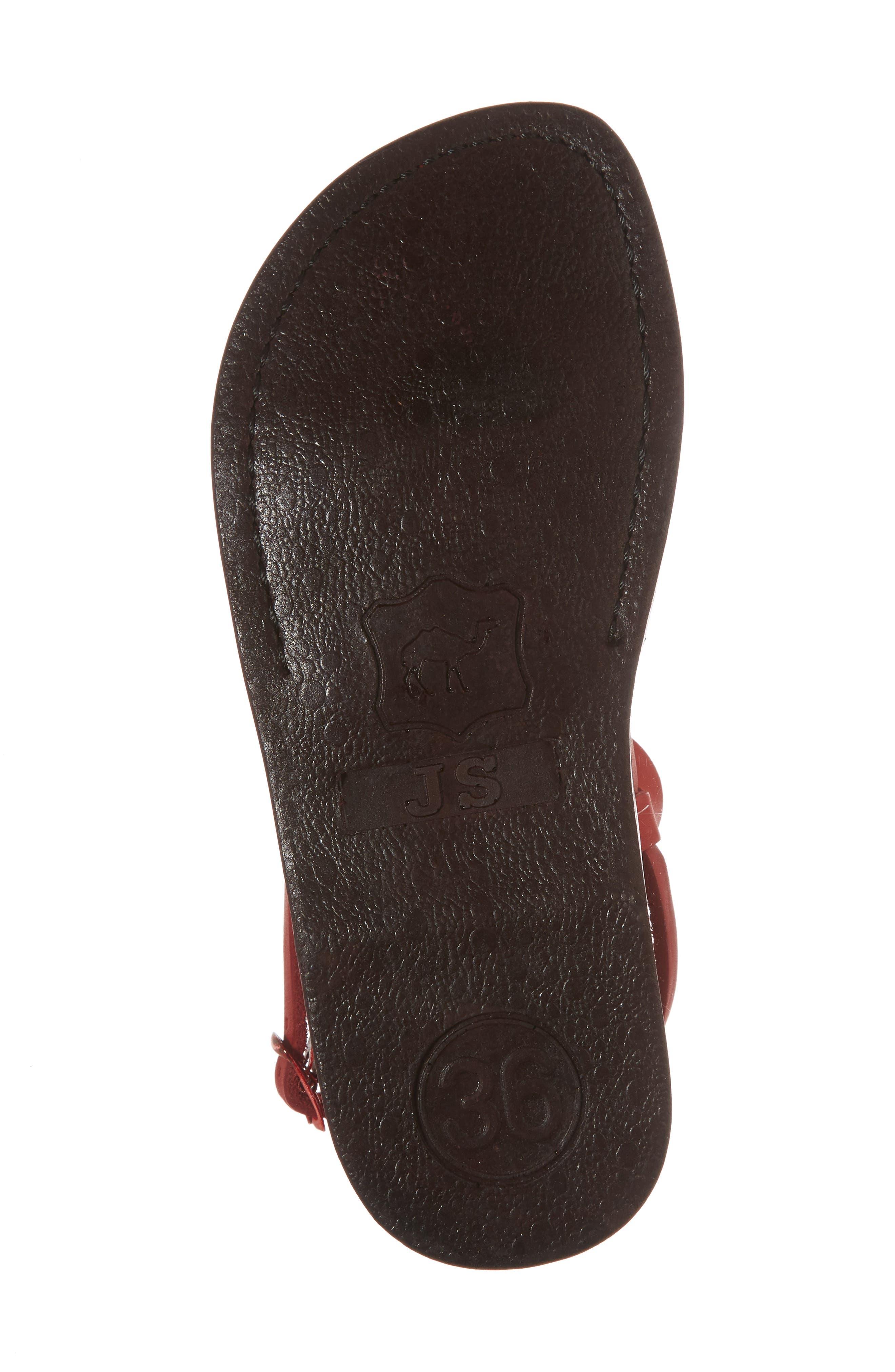 Alternate Image 6  - Jerusalem Sandals Tzippora Slingback Sandal (Women)