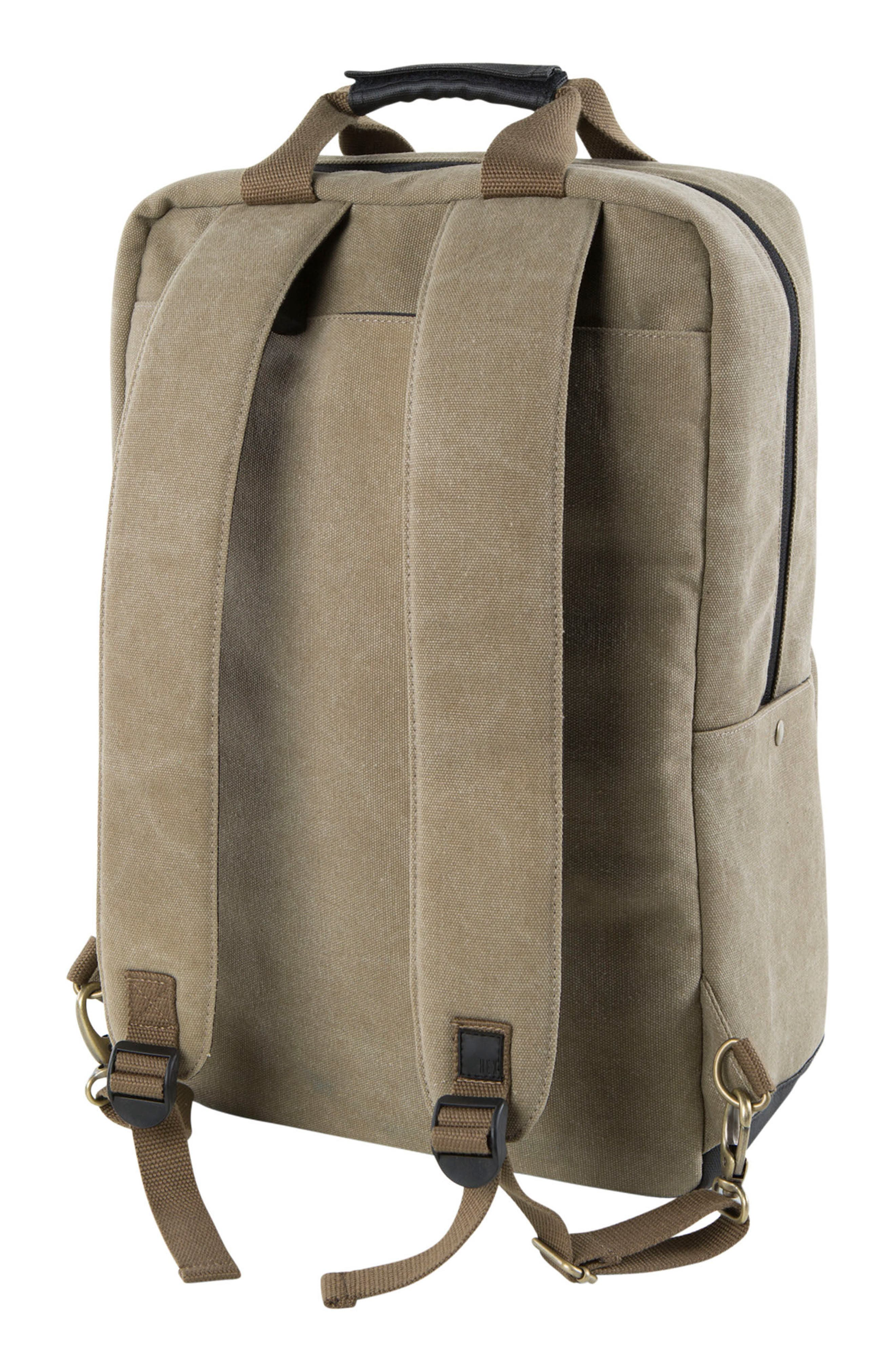 Supply Convertible Water Resistant Backpack,                             Alternate thumbnail 2, color,                             Khaki