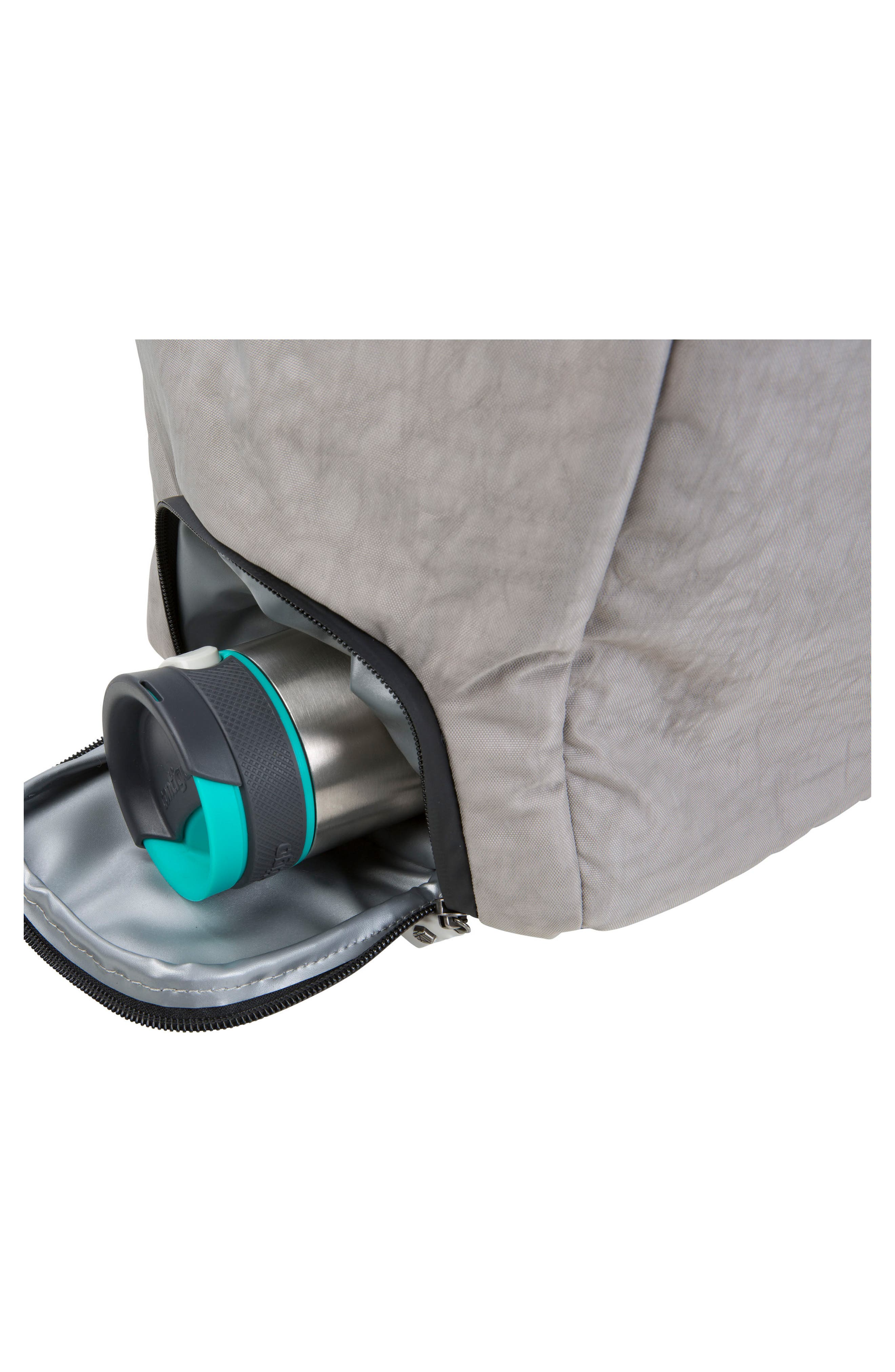 Calibre Convertible Duffel Bag,                             Alternate thumbnail 4, color,                             Strata Grey