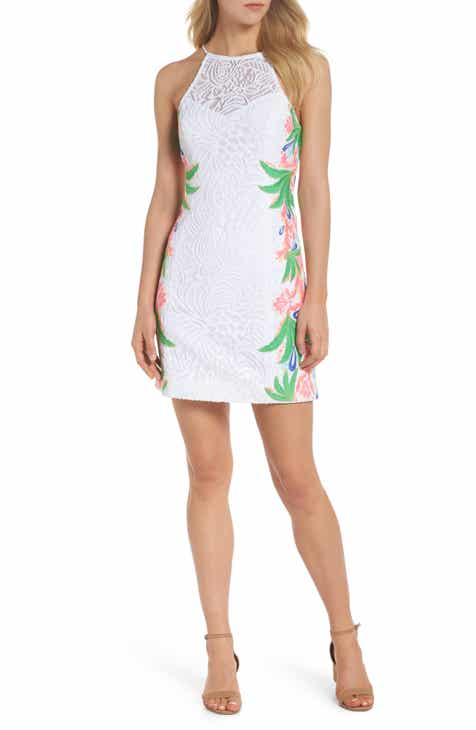 Lilly Pulitzer Pearl Lace Sheath Dress