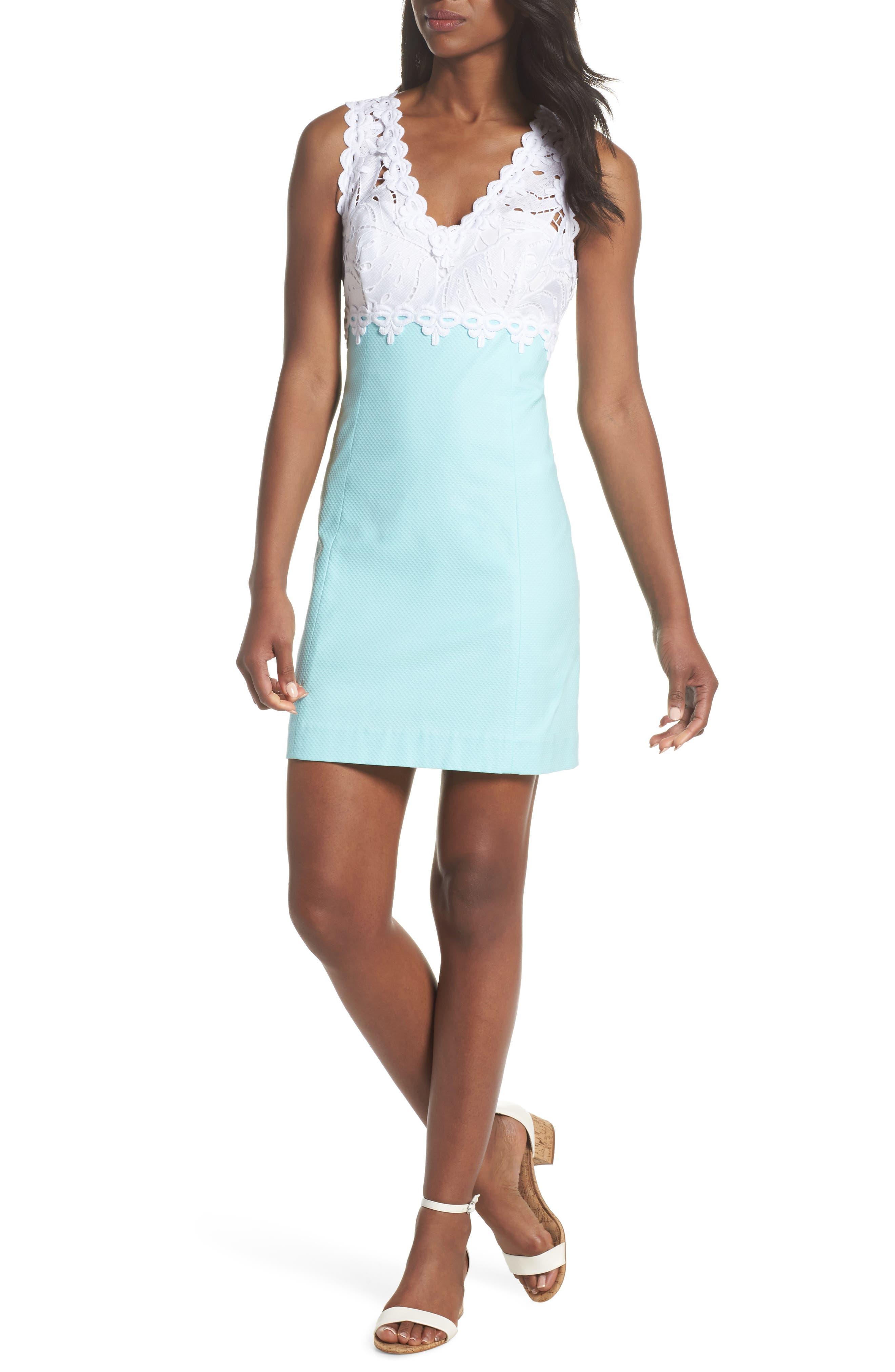 Sandi Minidress,                         Main,                         color, Seasalt Blue