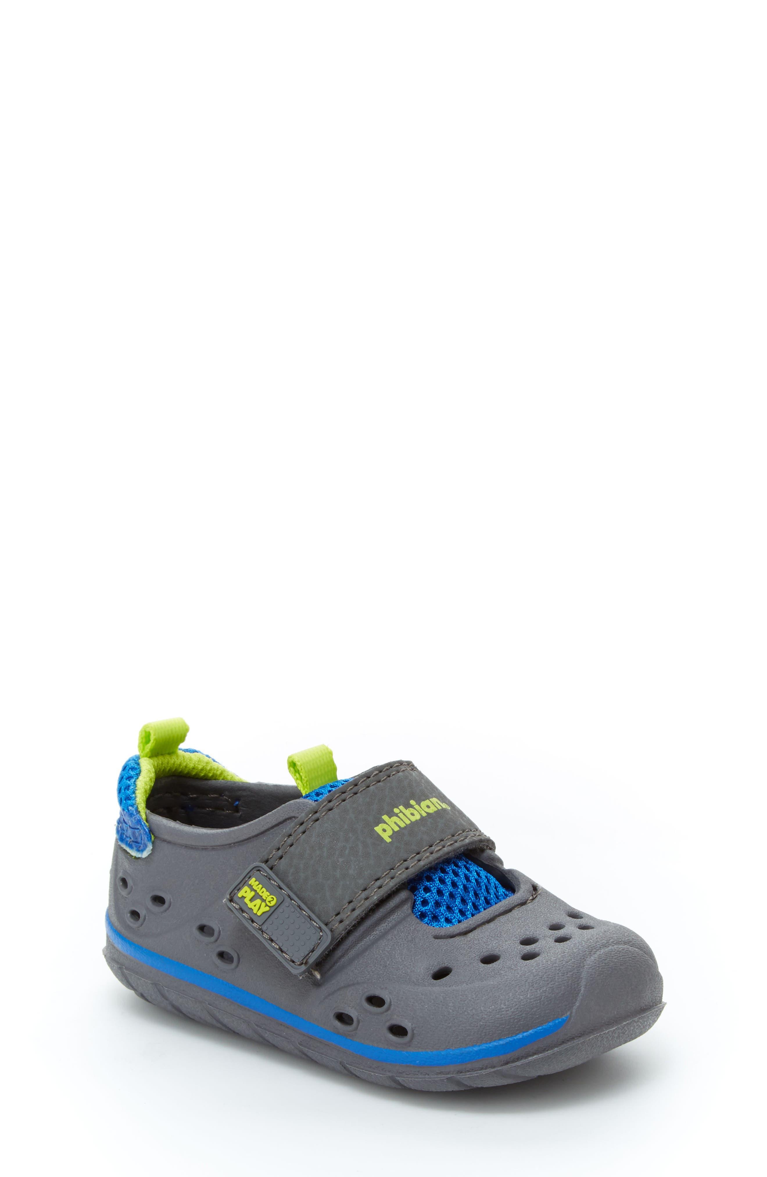 'Made2Play<sup>®</sup> Phibian' Sneaker,                             Main thumbnail 1, color,                             Grey/ Grey