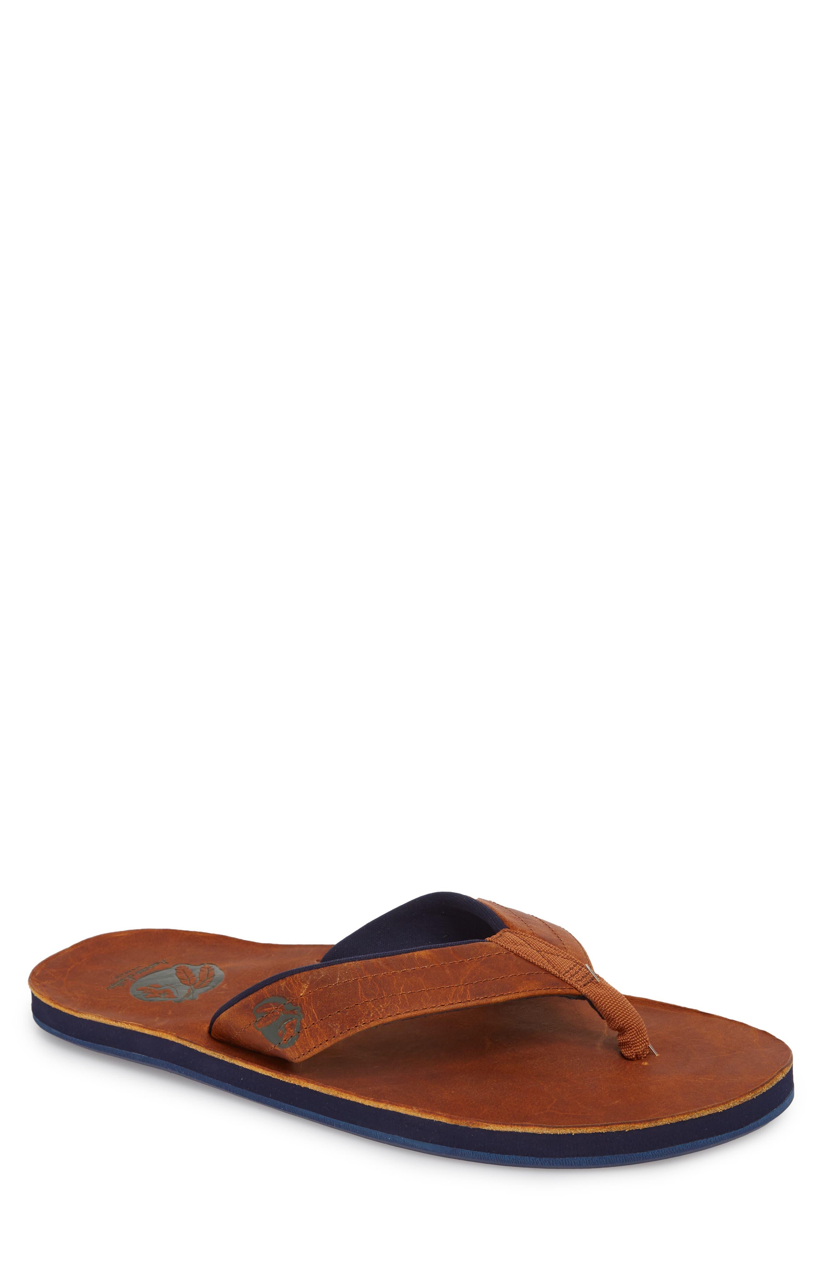 Nokona Flip Flop,                         Main,                         color, Generation Brown Leather