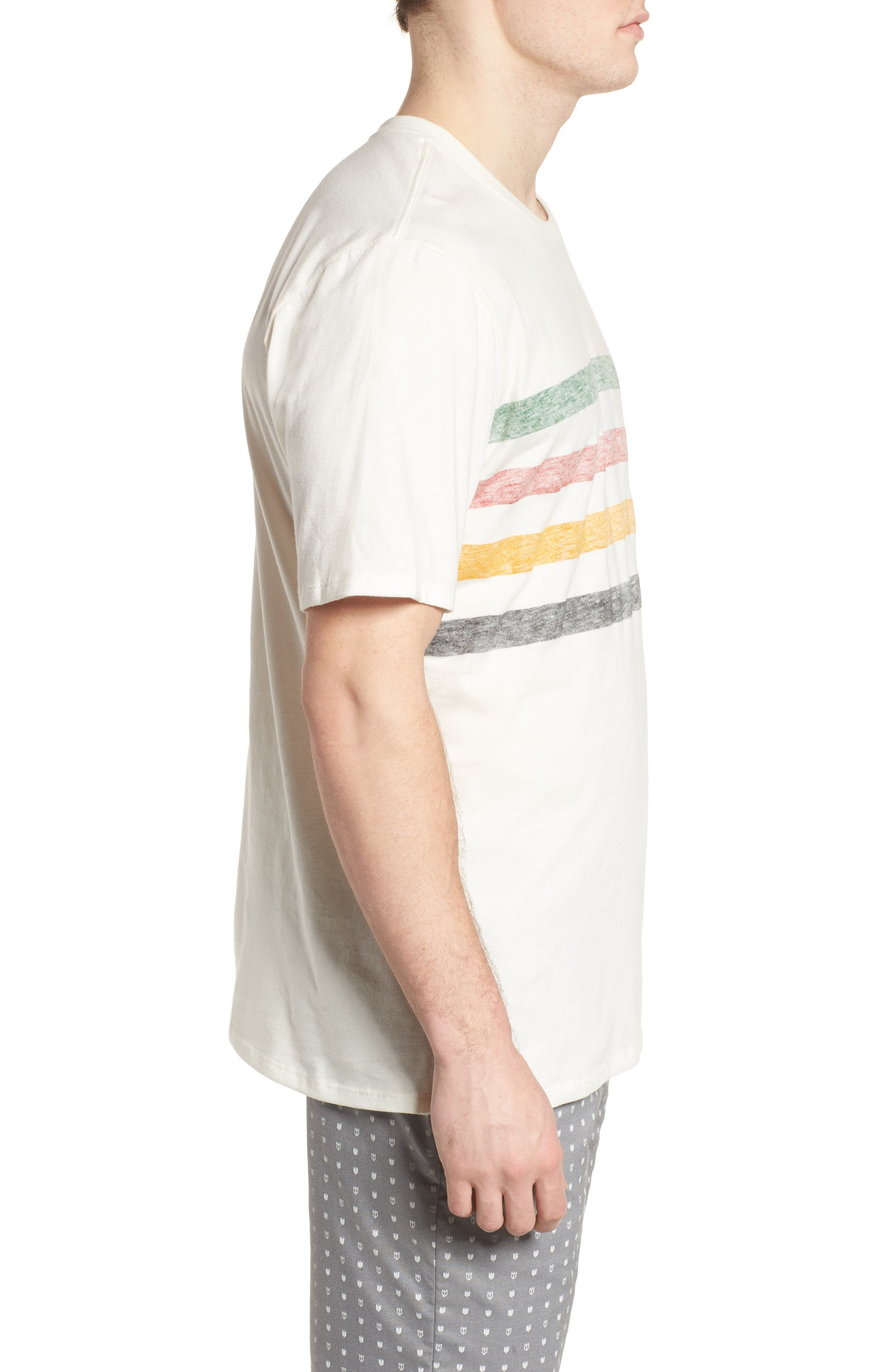x Pendleton Glacier T-Shirt,                             Alternate thumbnail 3, color,                             Sail