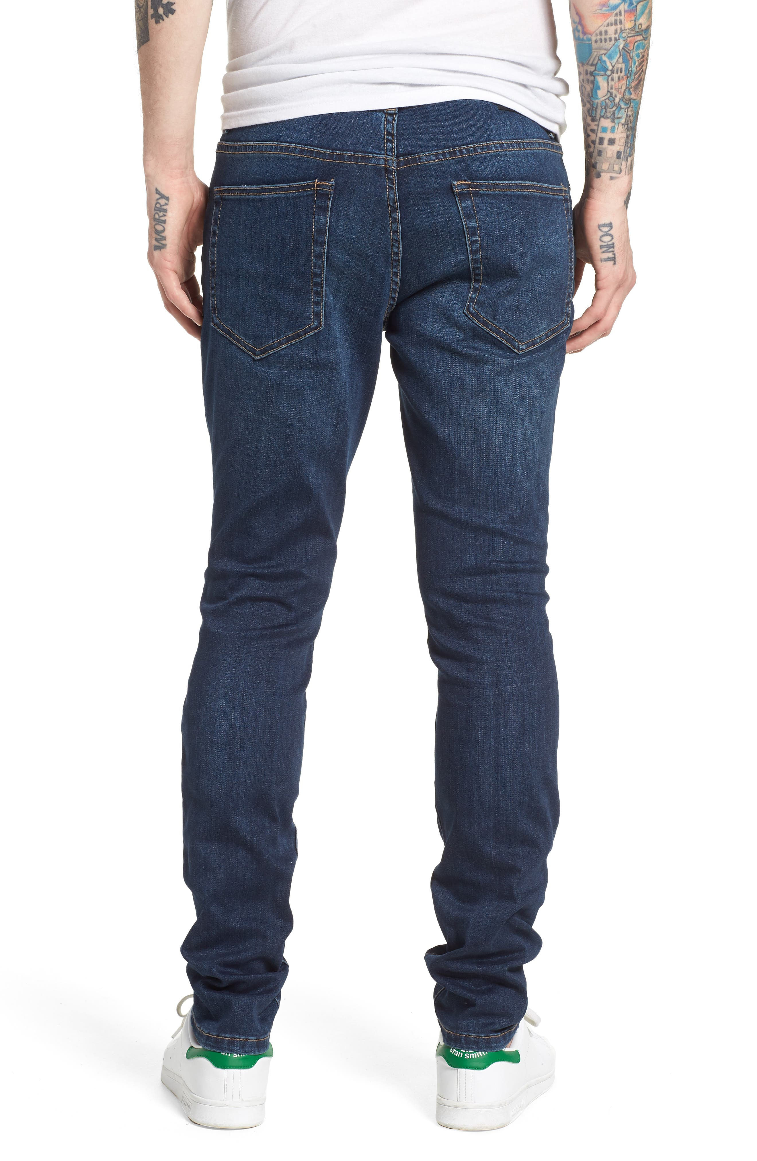 Jeans Co. Bond Skinny Fit Jeans,                             Alternate thumbnail 2, color,                             Cladwell Dark
