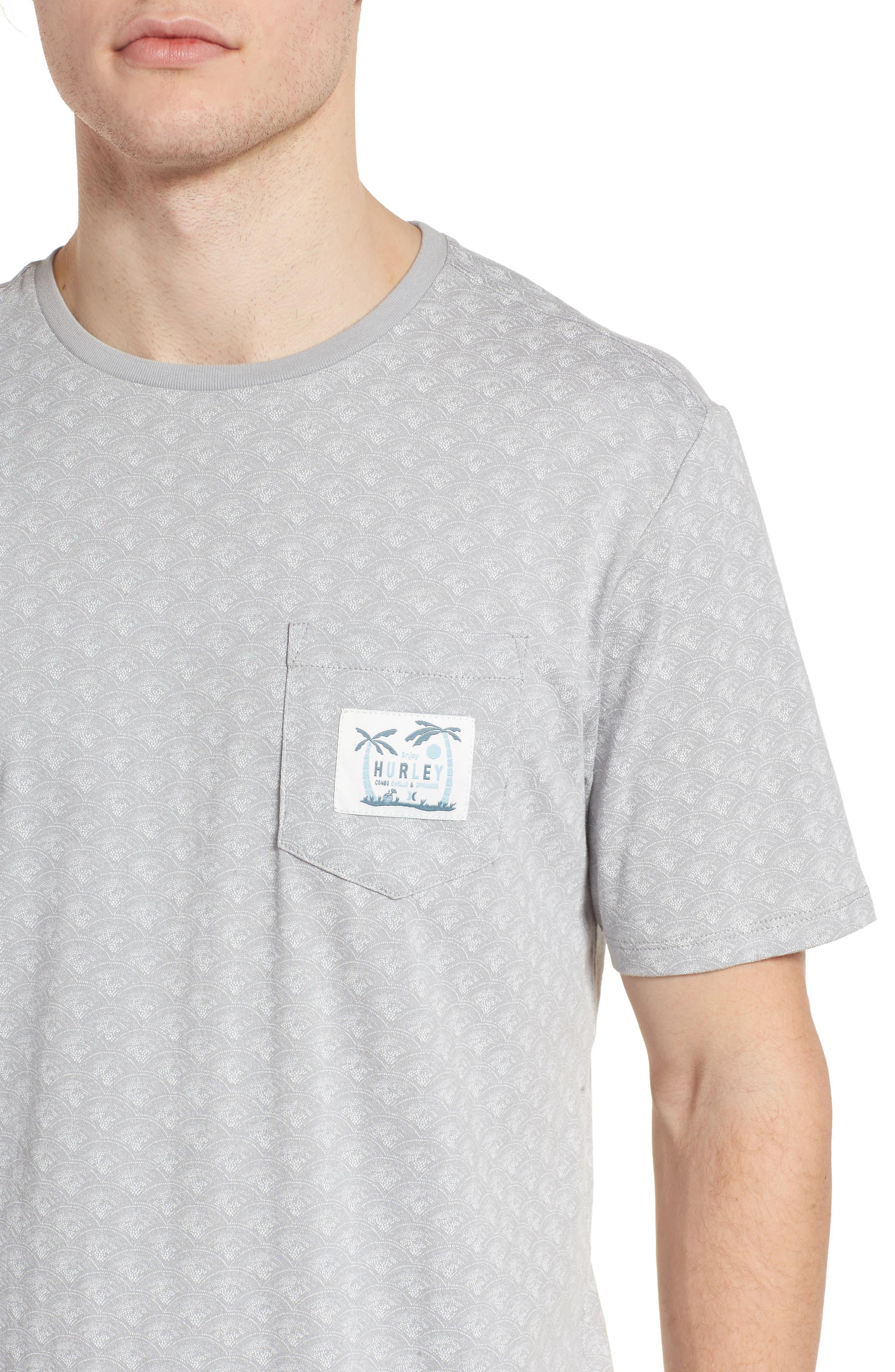 Pescado Short Sleeve T-Shirt,                             Alternate thumbnail 4, color,                             Sail