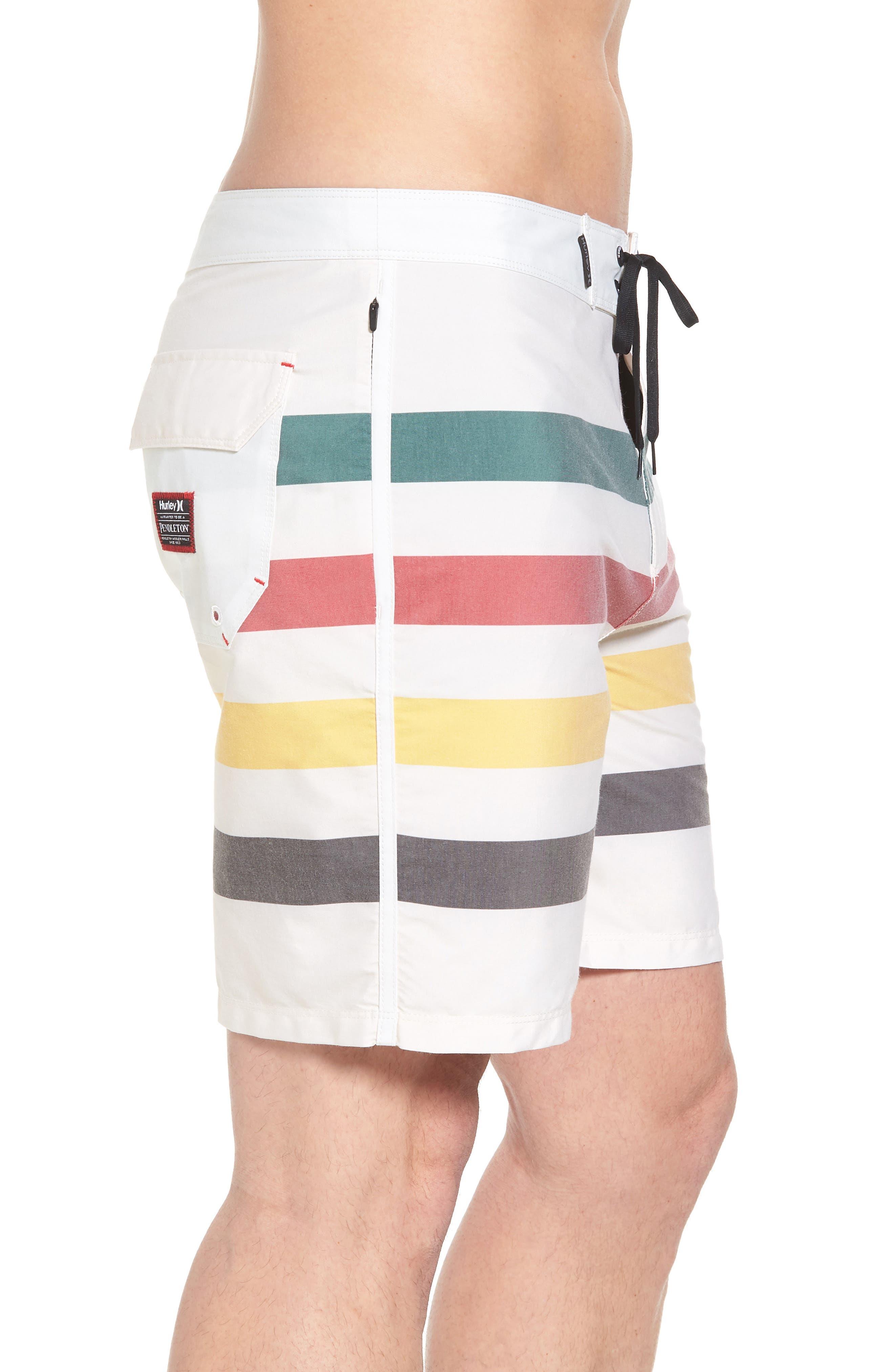 x Pendleton Grand Glacier Board Shorts,                             Alternate thumbnail 4, color,                             Sail