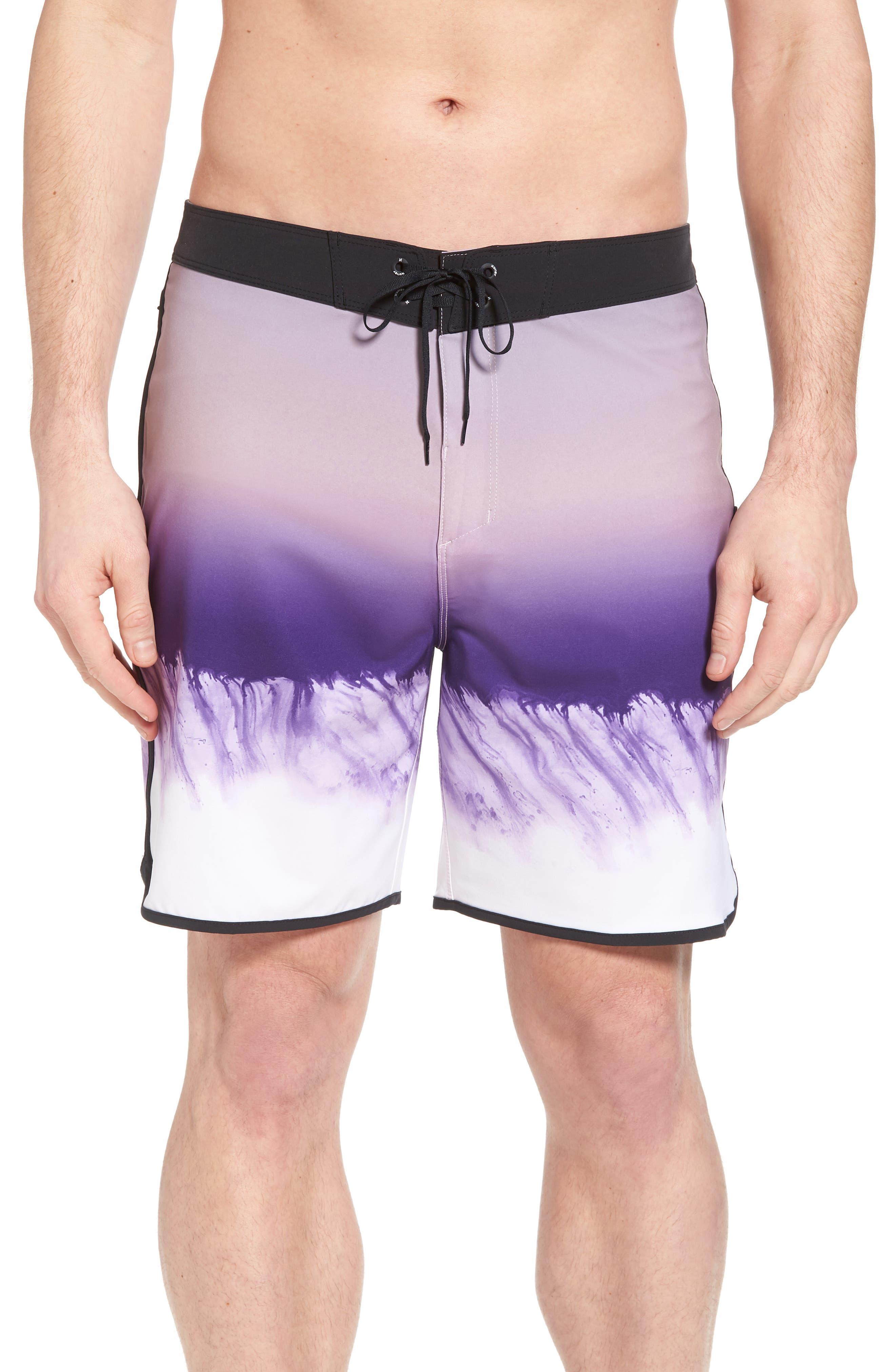 Phantom Estuary Board Shorts,                             Main thumbnail 1, color,                             Elemental Rose