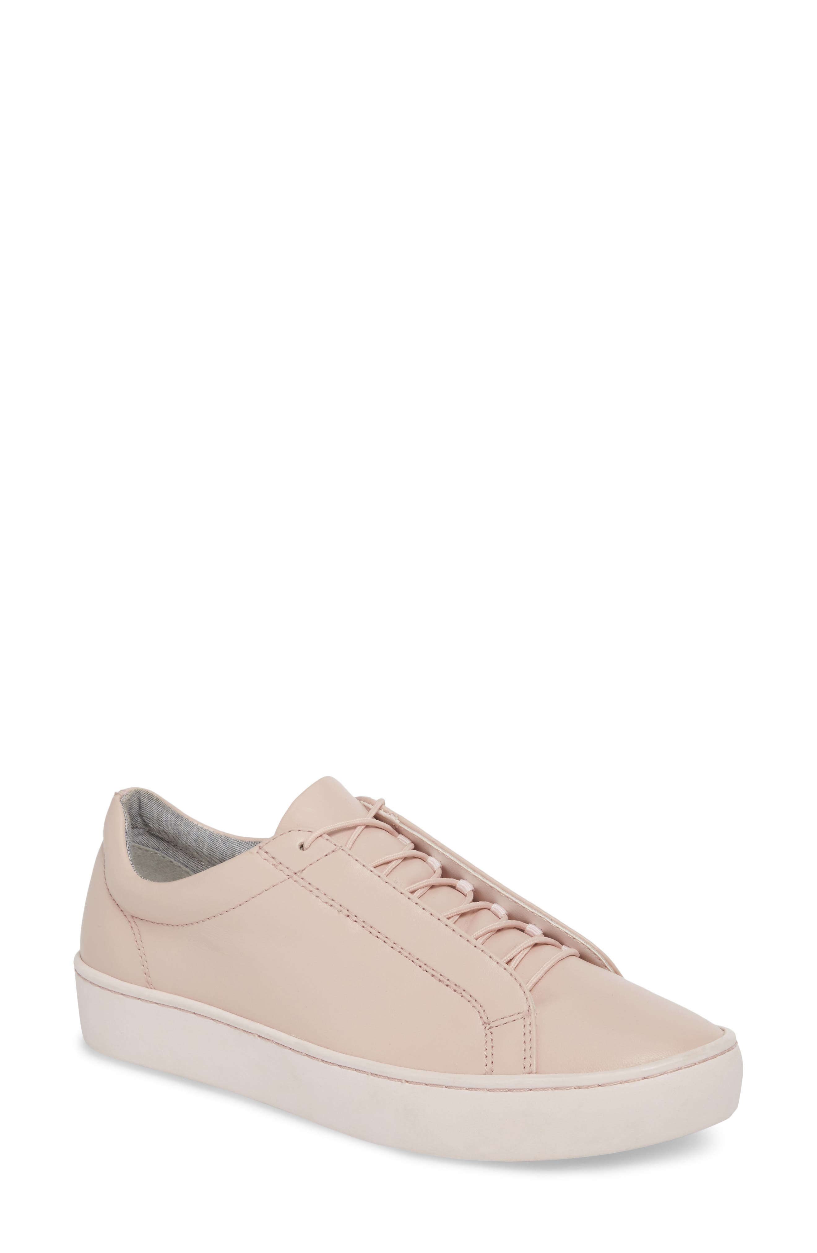 Zoe Sneaker,                         Main,                         color, Milkshake Leather