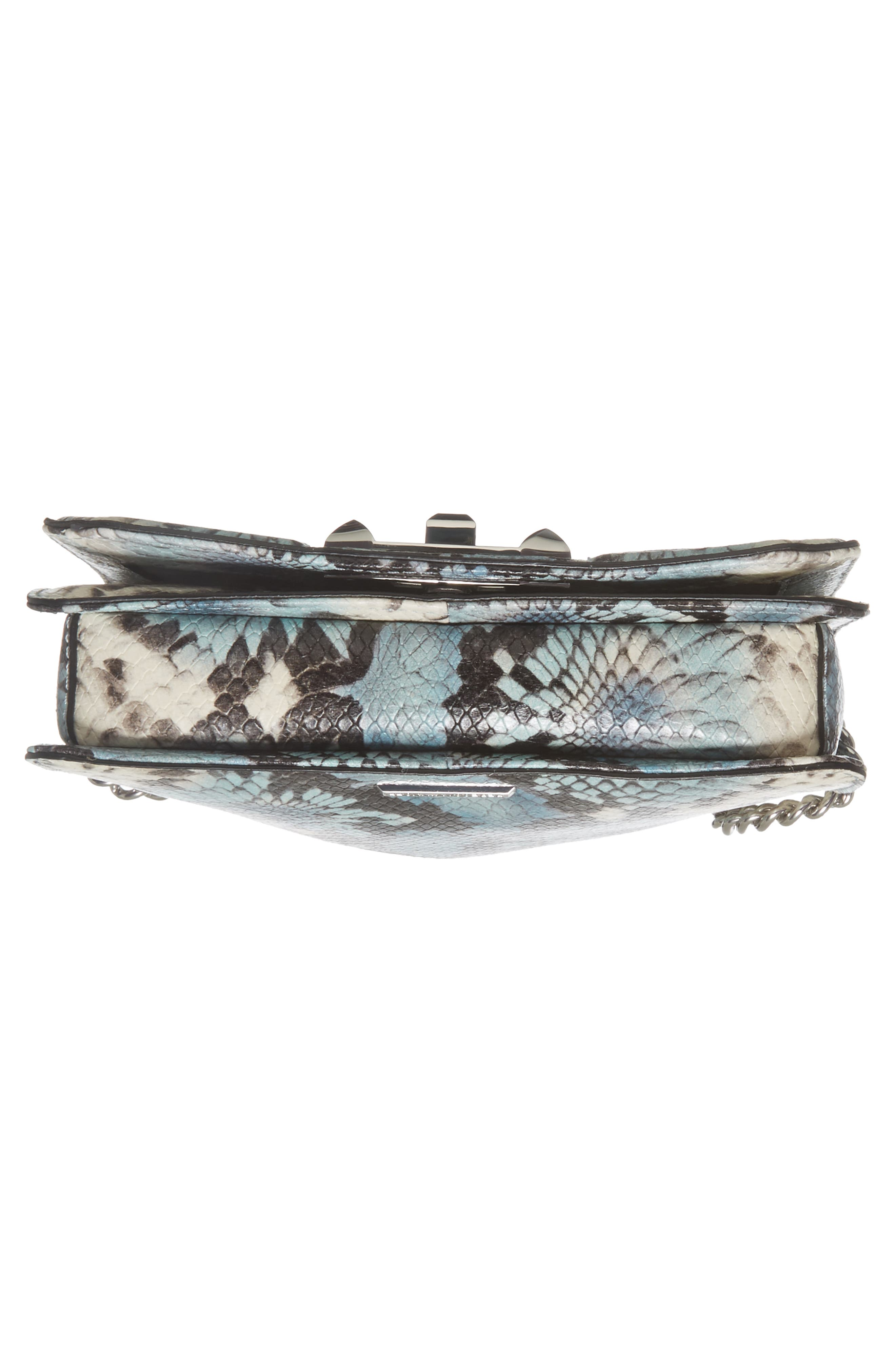 Alternate Image 6  - Rebecca Minkoff Small Love Snake Embossed Leather Crossbody Bag
