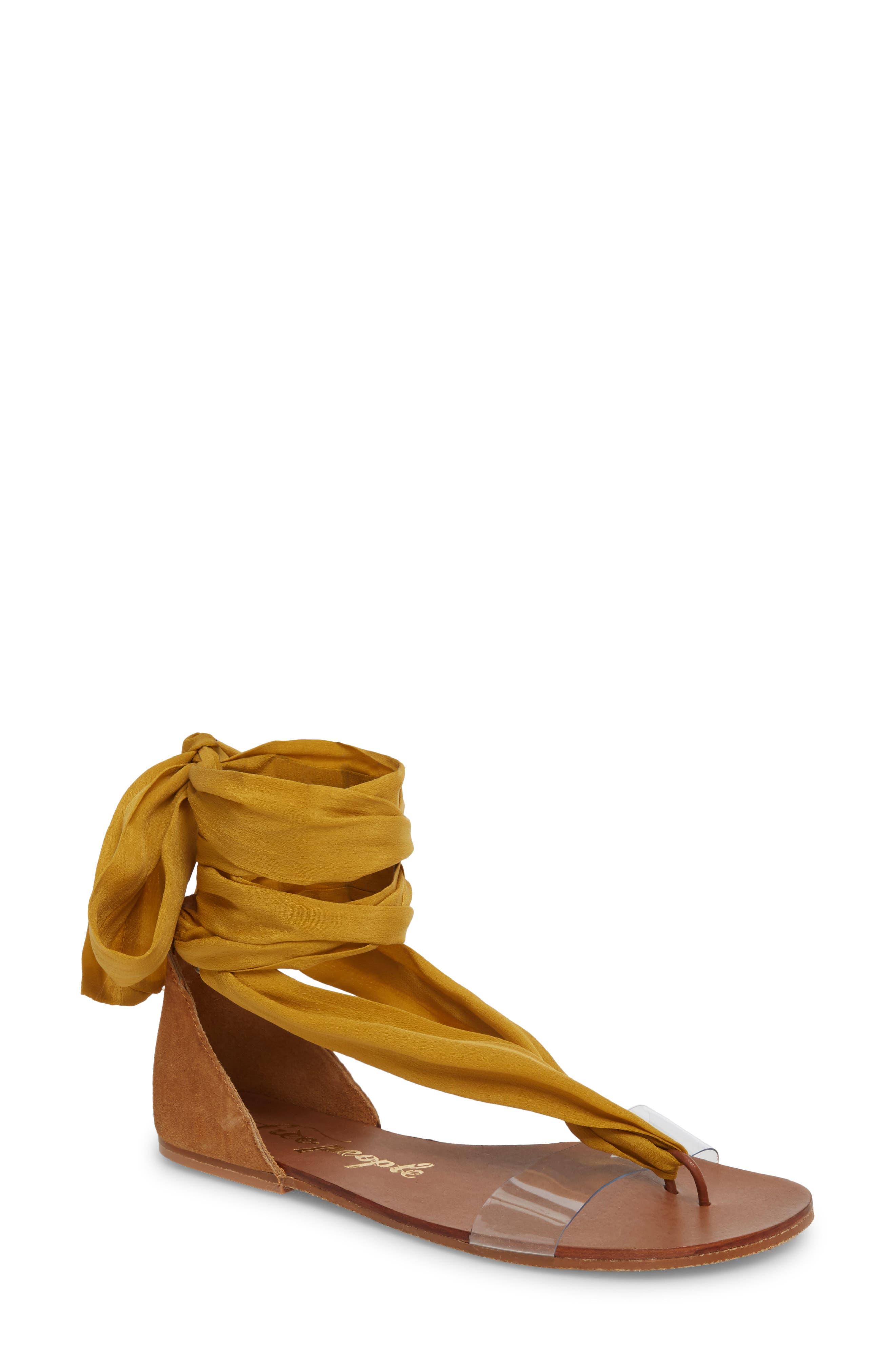 Alternate Image 1 Selected - Free People Barcelona Wrap Sandal (Women)