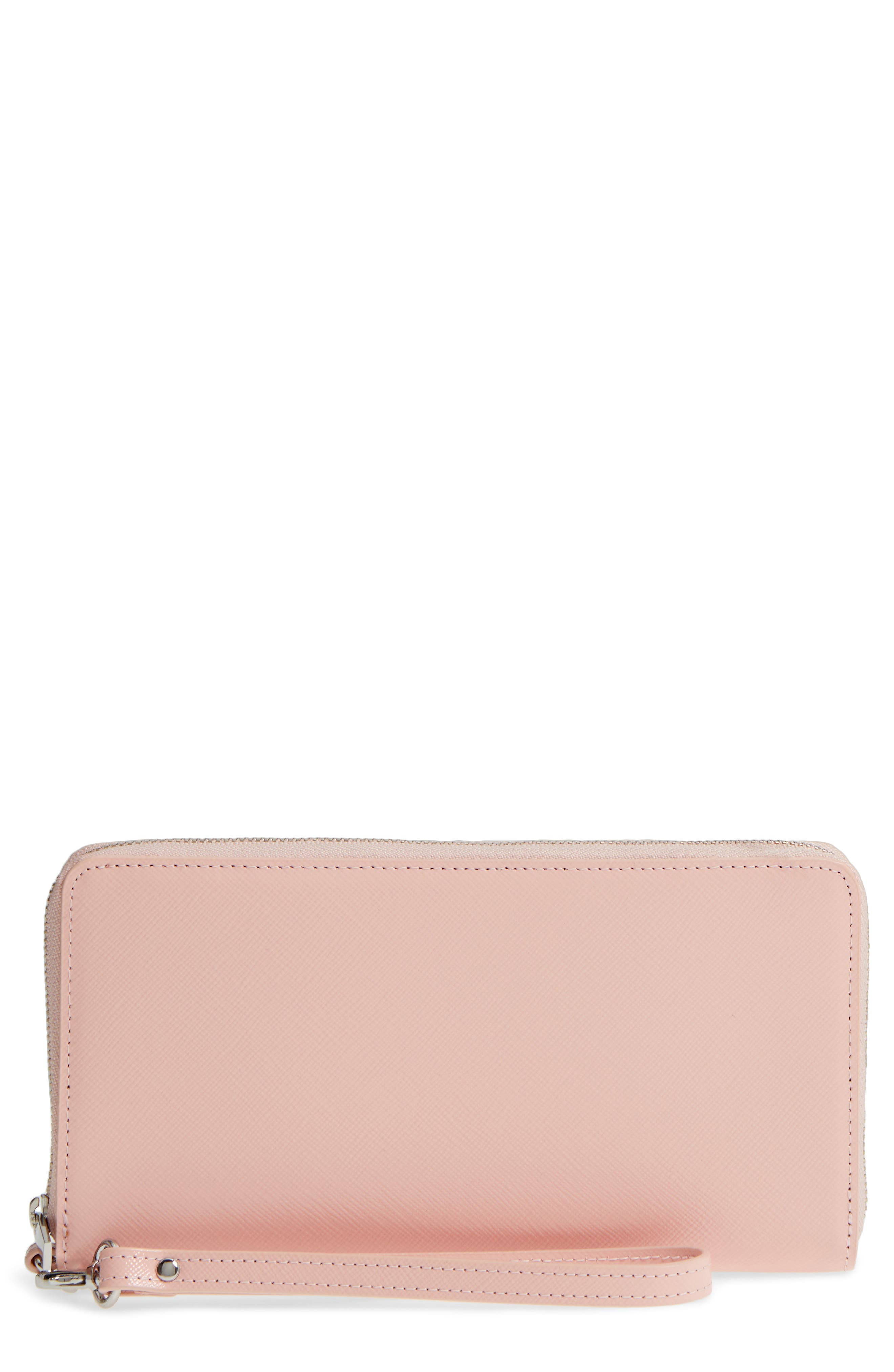 Alternate Image 1 Selected - Nordstrom Leather Zip Around Wallet