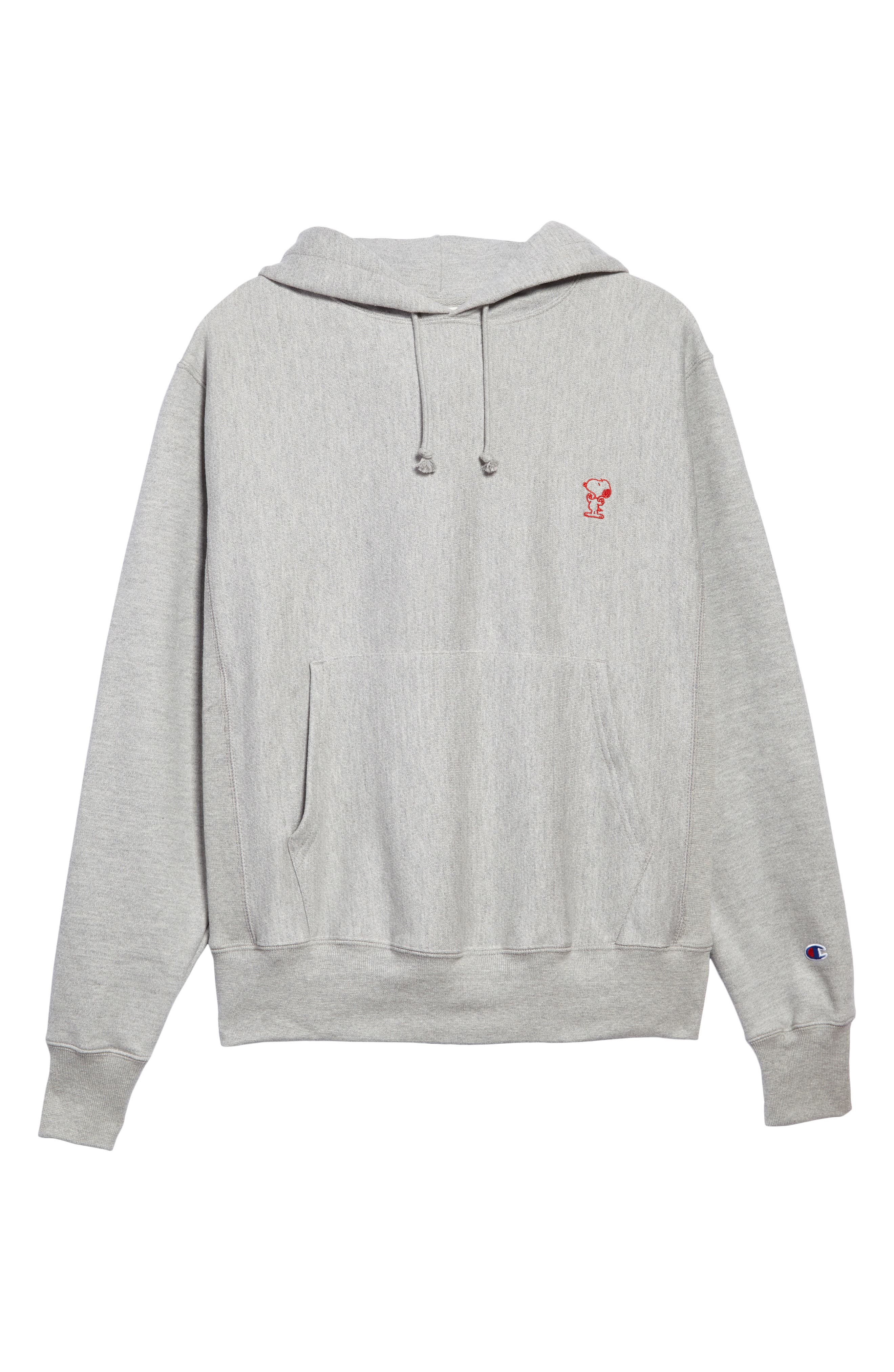 Main Image - Champion Snoopy Unisex Pullover Hoodie (Limited Edition) (Nordstrom Exclusive)