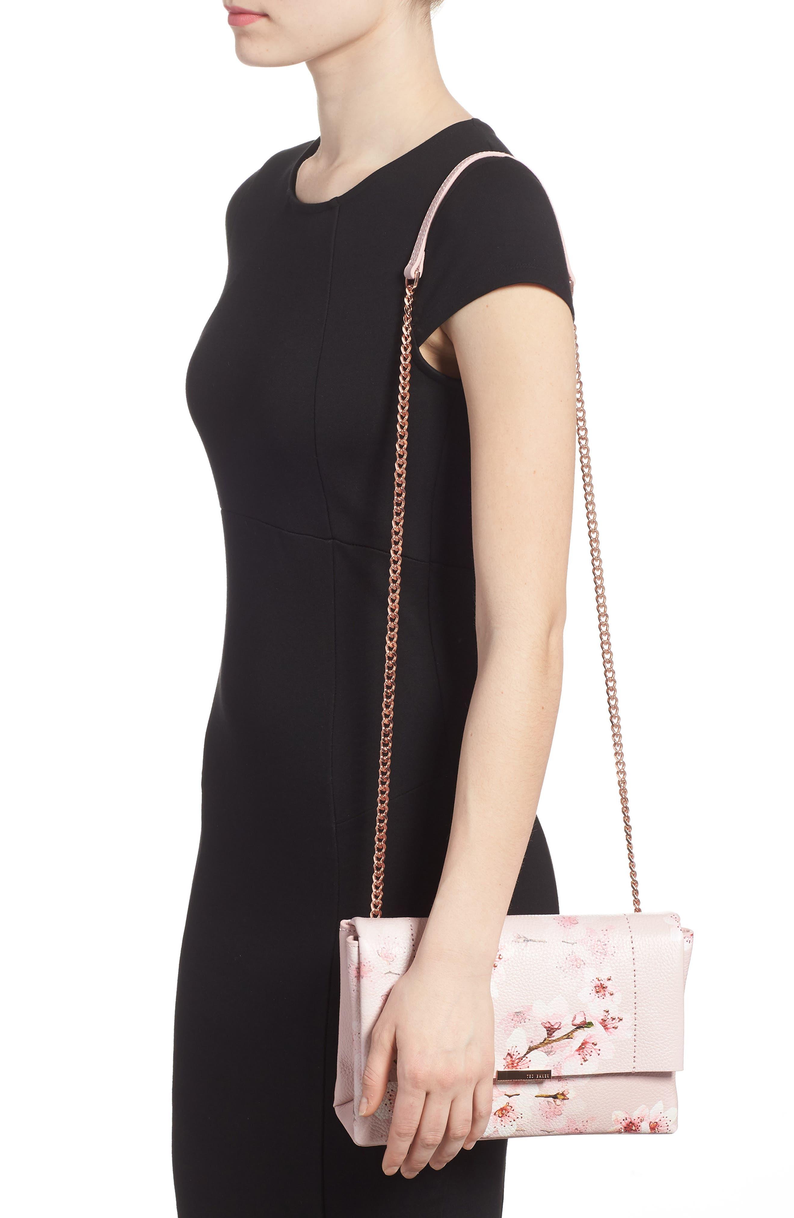 Alternate Image 2  - Ted Baker London Jayy Soft Blossom Leather Crossbody Bag