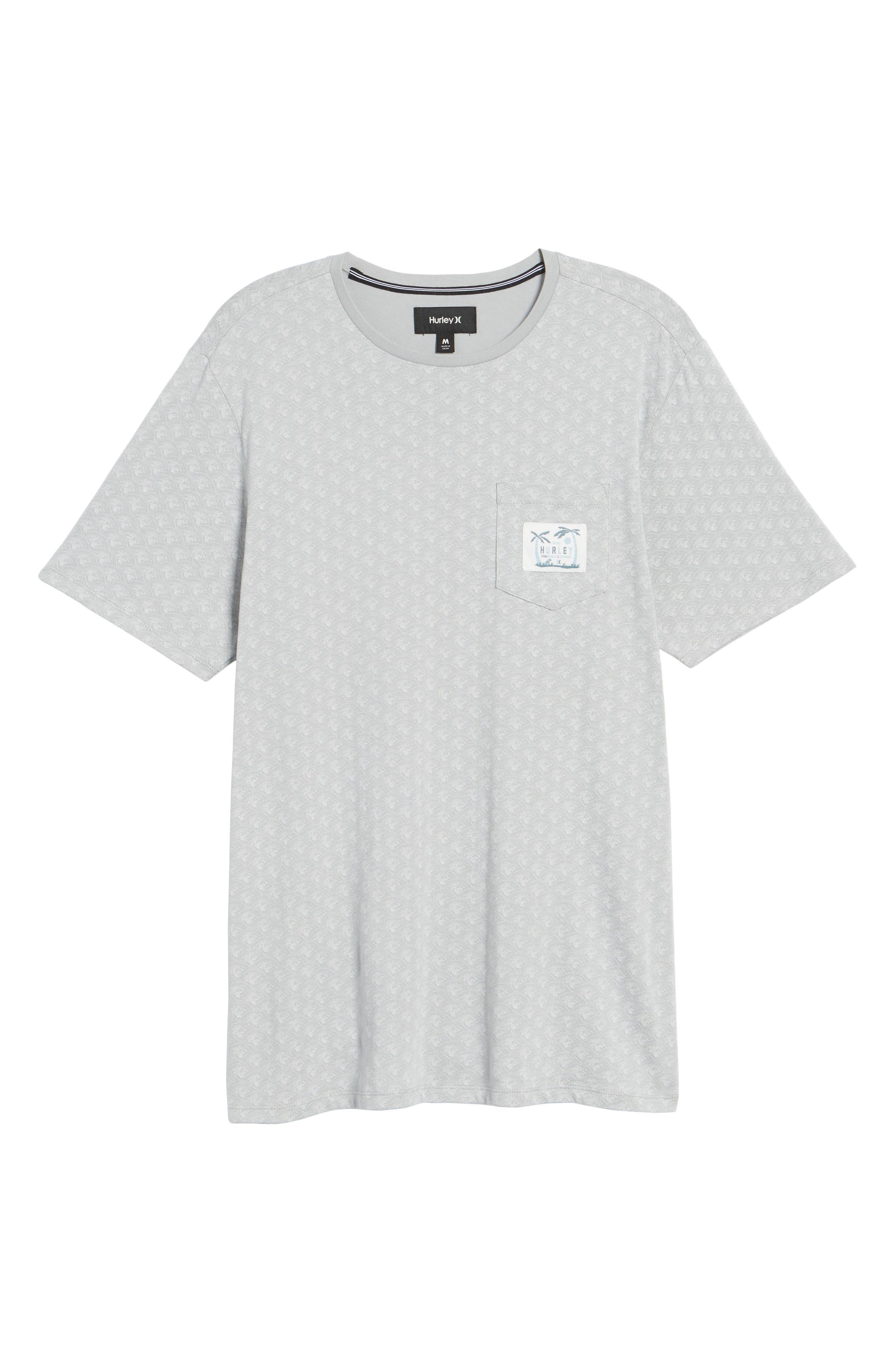 Pescado Short Sleeve T-Shirt,                             Alternate thumbnail 6, color,                             Sail