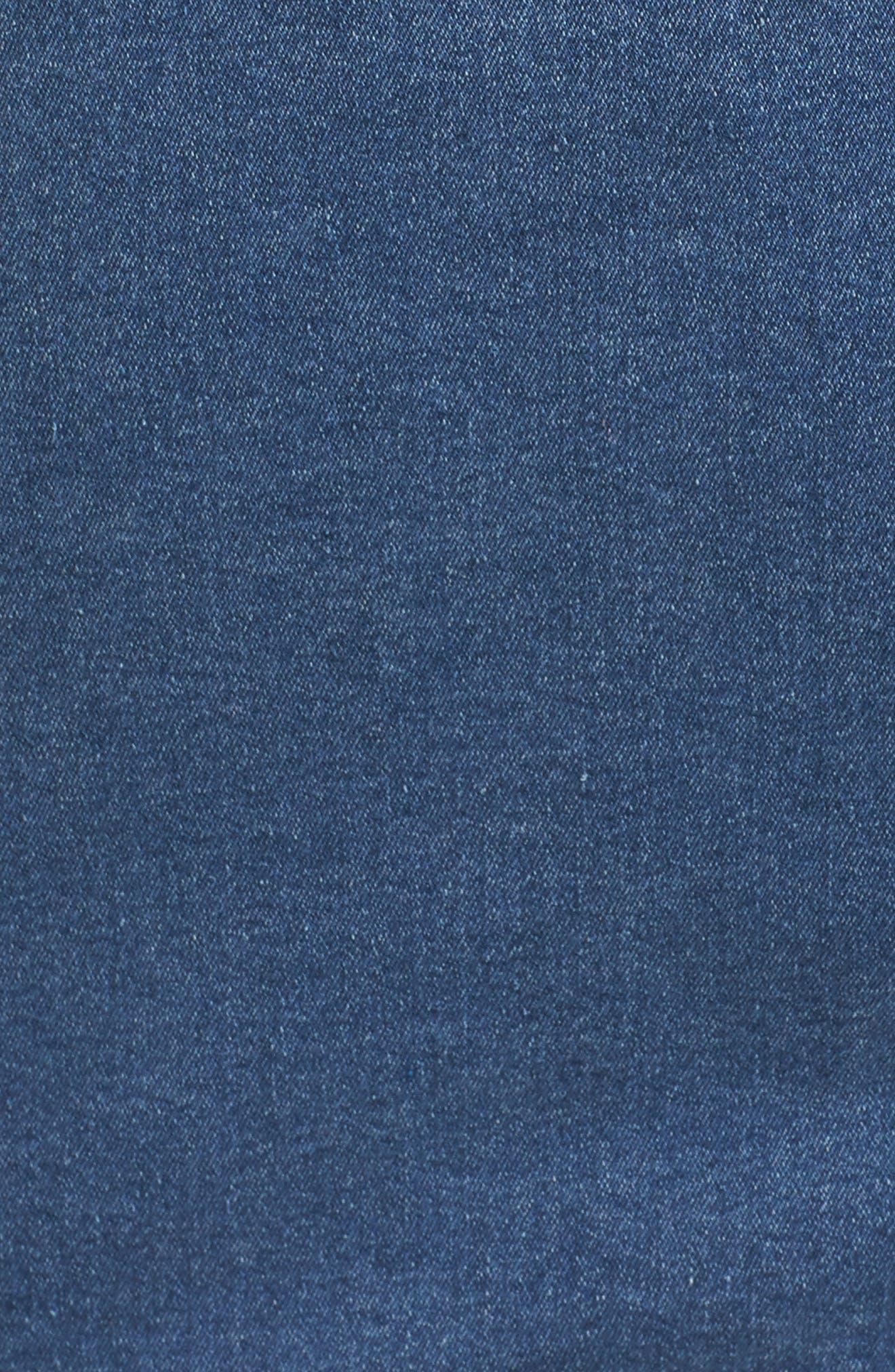 Alternate Image 5  - JUNAROSE Katla Denim Jacket (Plus Size)