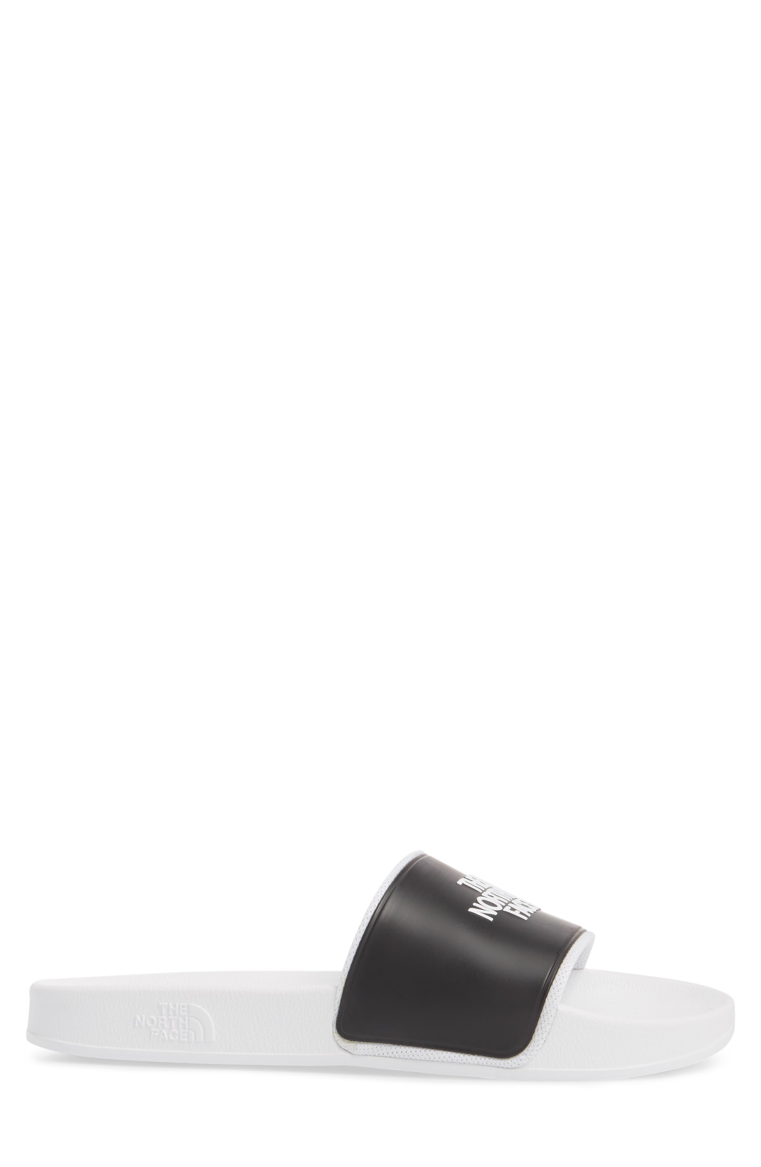 Base Camp II Slide Sandal,                             Alternate thumbnail 3, color,                             Tnf White/ Tnf Black