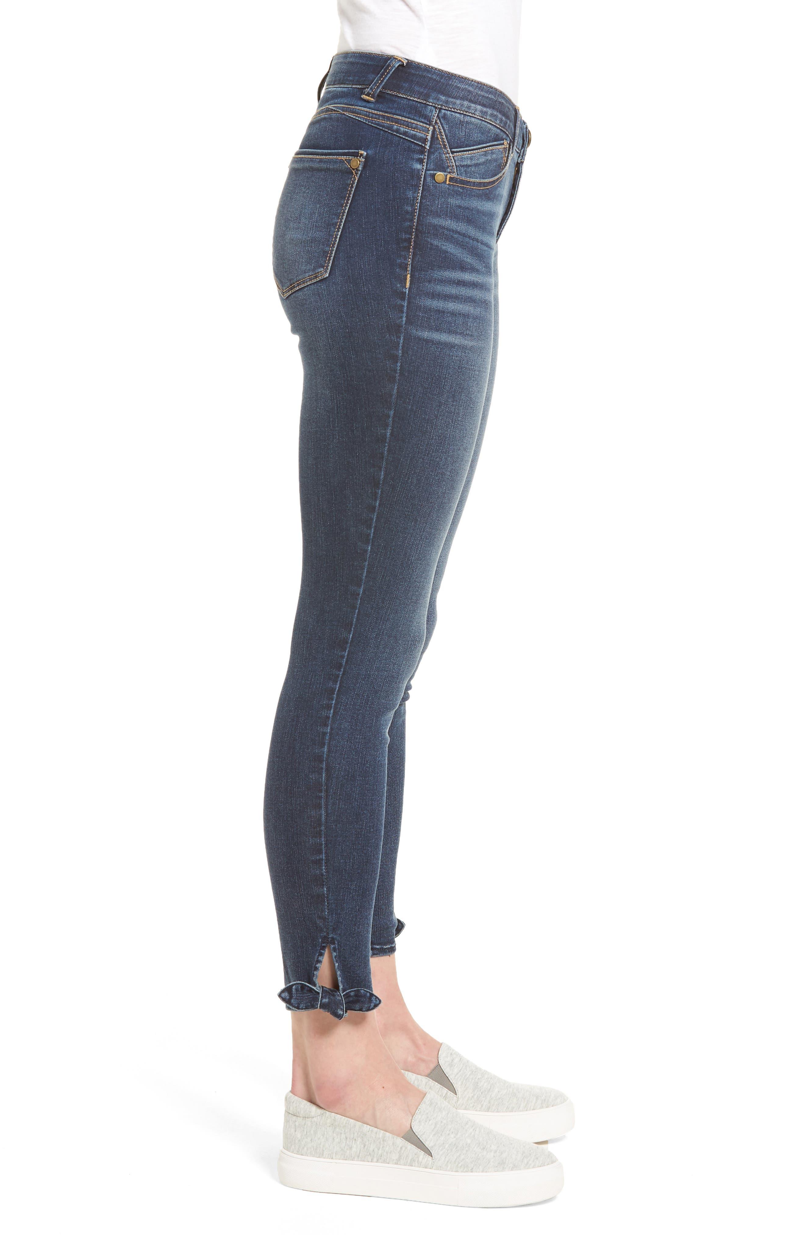 Ab-solution Ankle Skinny Skimmer Jeans,                             Alternate thumbnail 3, color,                             Bl- Blue