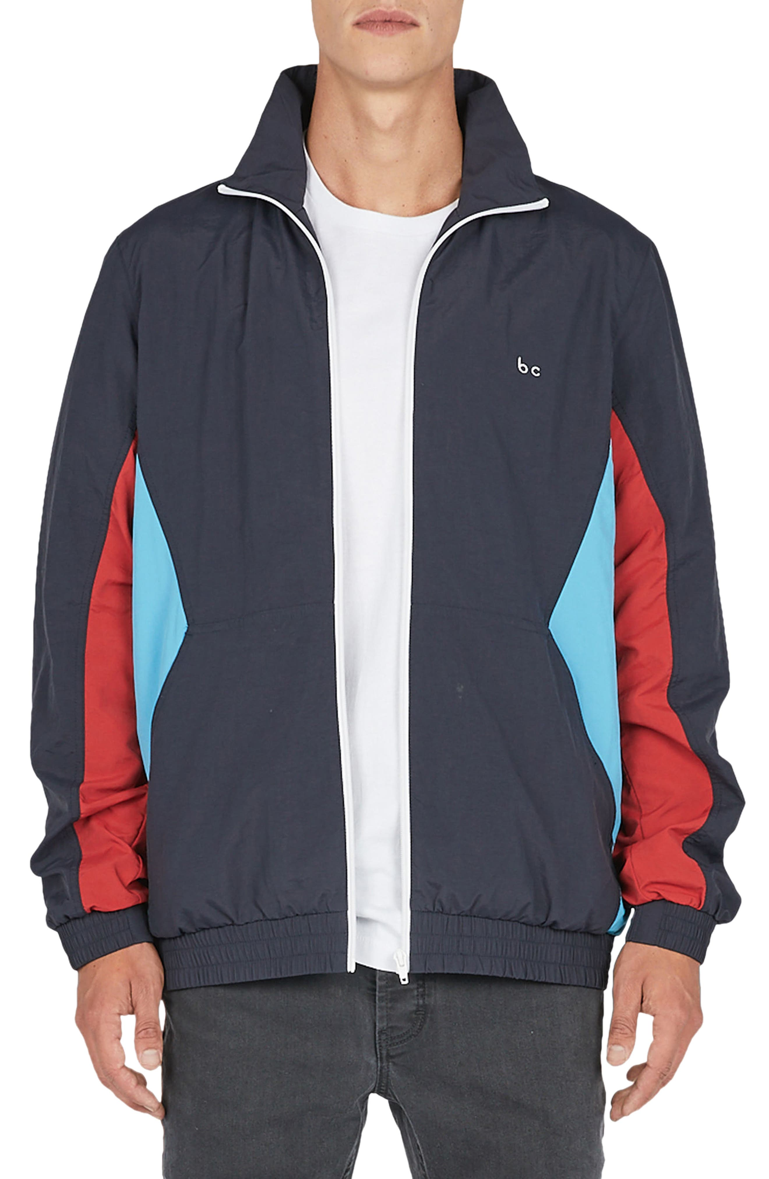 B. Quick Track Jacket,                             Main thumbnail 1, color,                             Navy Sport