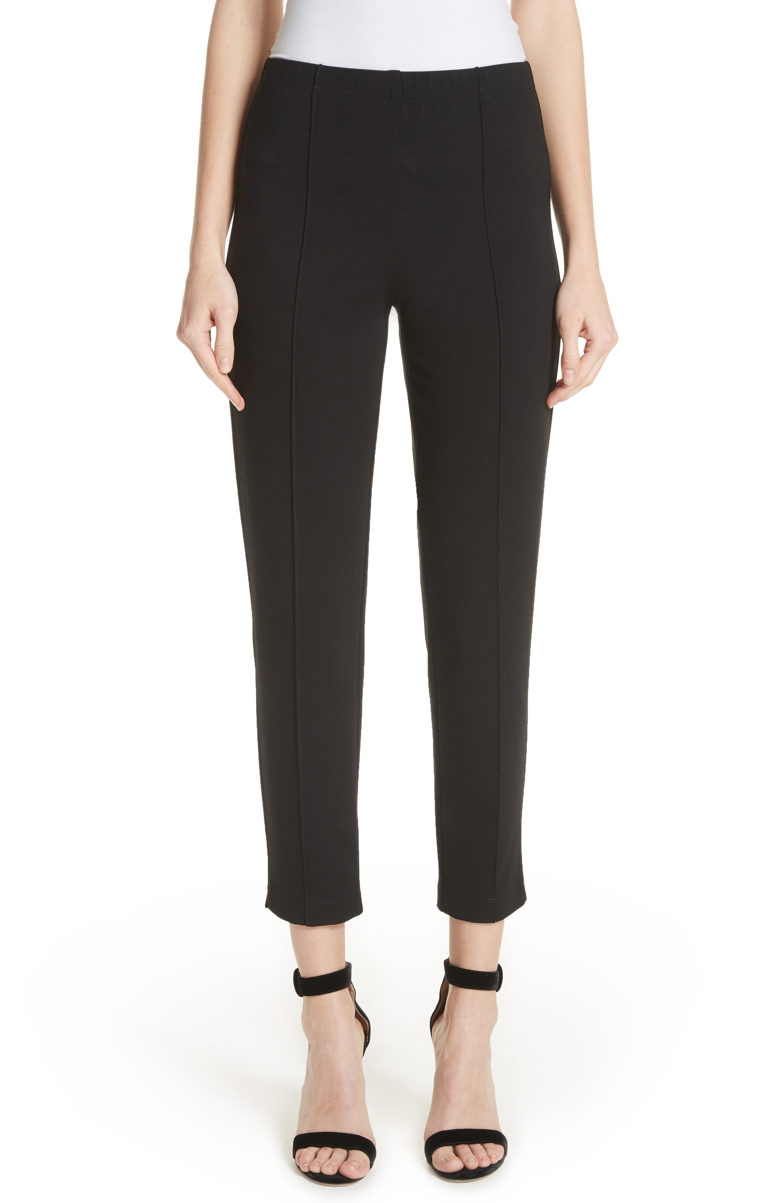 Alternate Image 1 Selected - St. John Collection Ponte Knit Ankle Pants