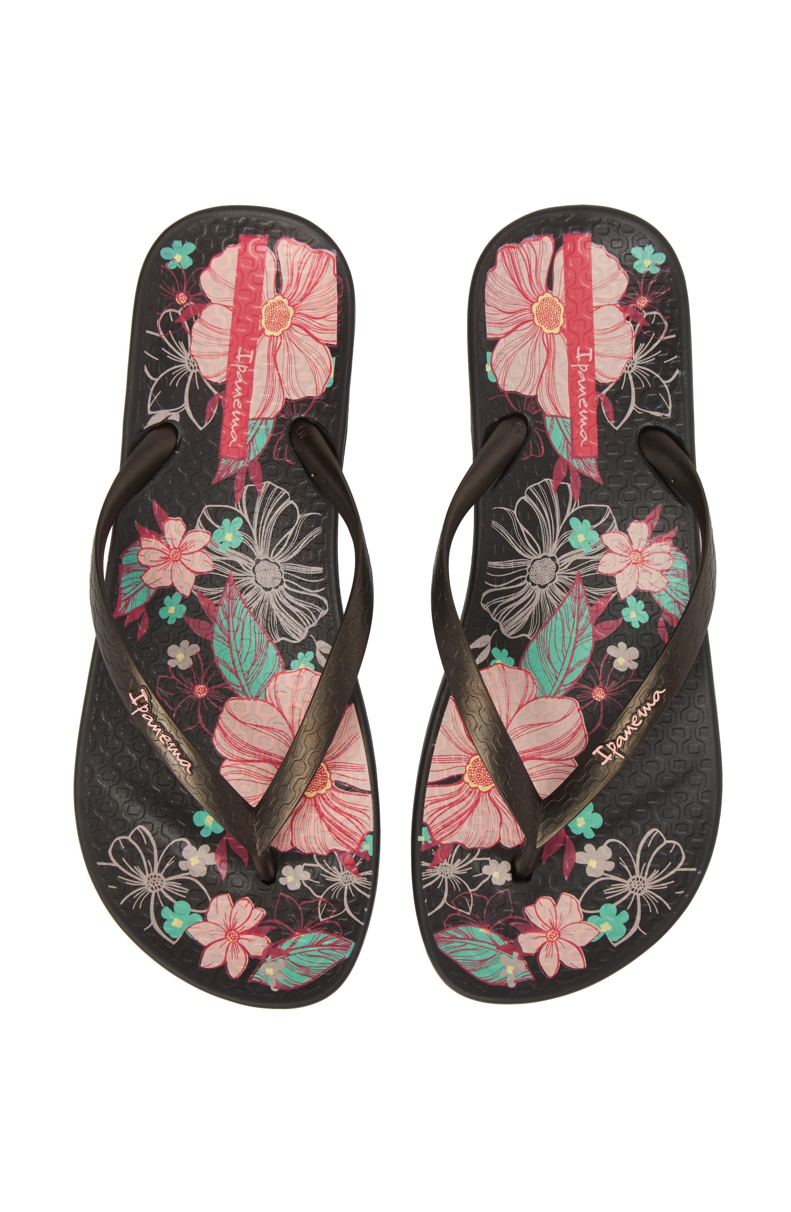 Ipanema Ana Blossom Print Flip Flop (Women)