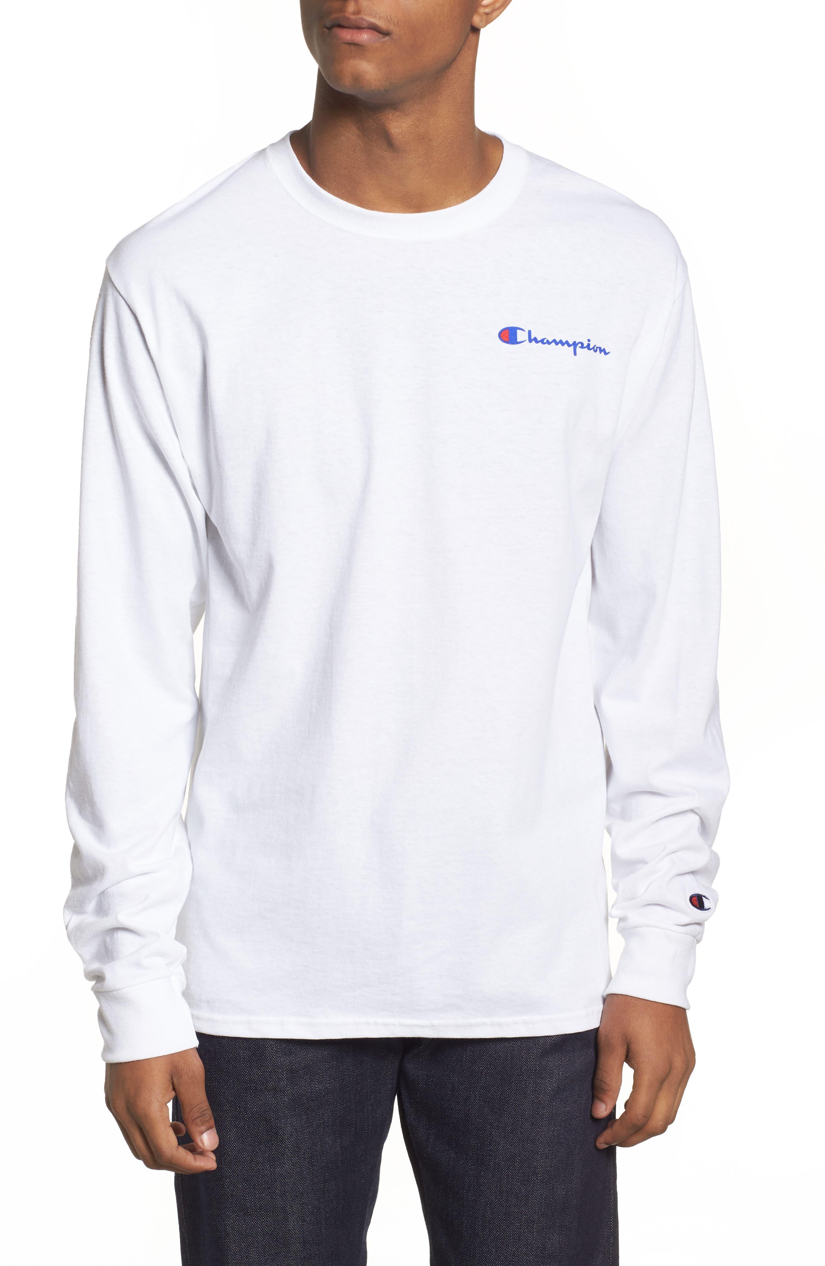 Snoopy Unisex Long Sleeve T-Shirt,                             Alternate thumbnail 2, color,                             White