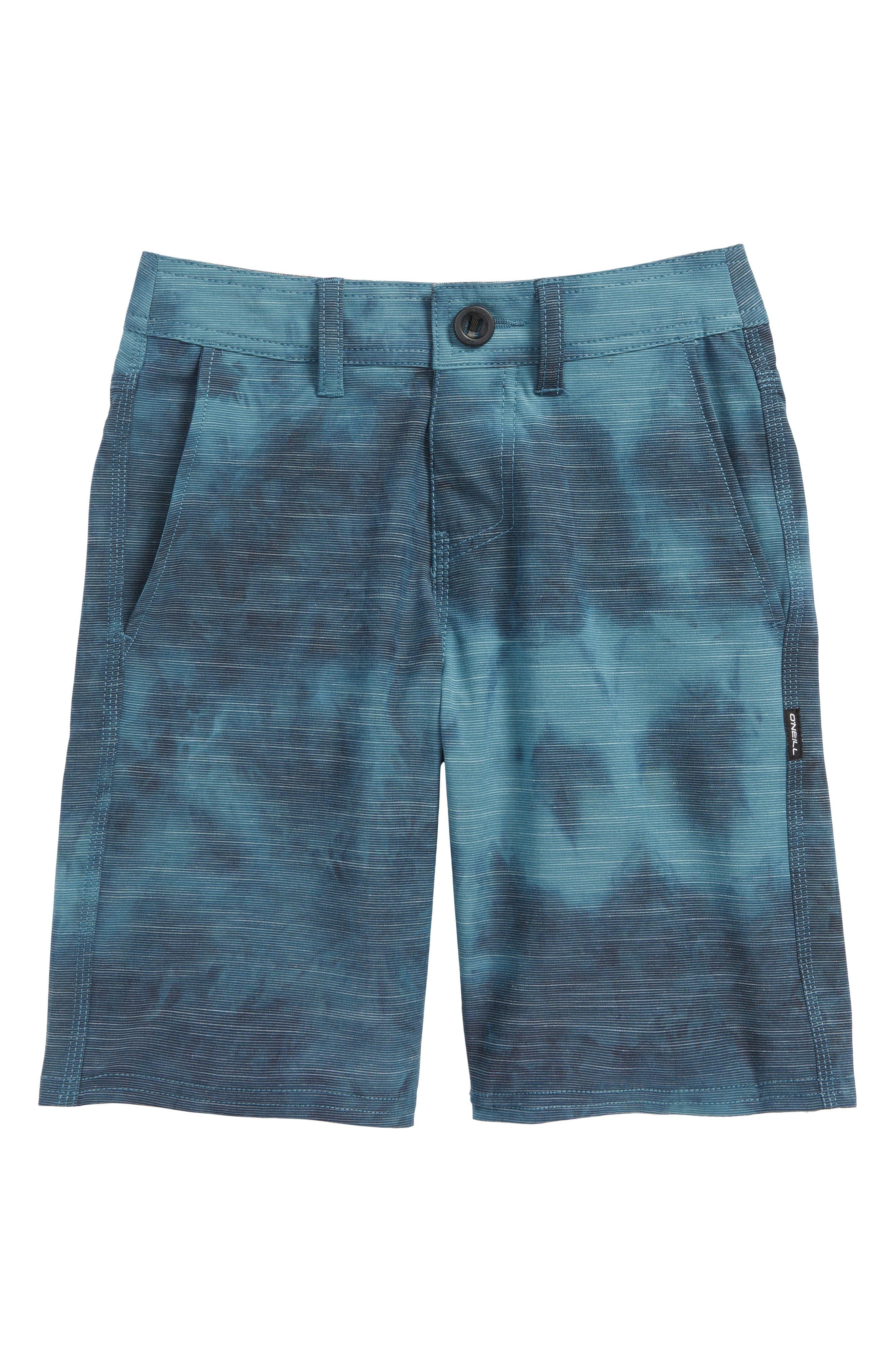 O'Neill Locked Tie Dye Hybrid Shorts (Big Boys)