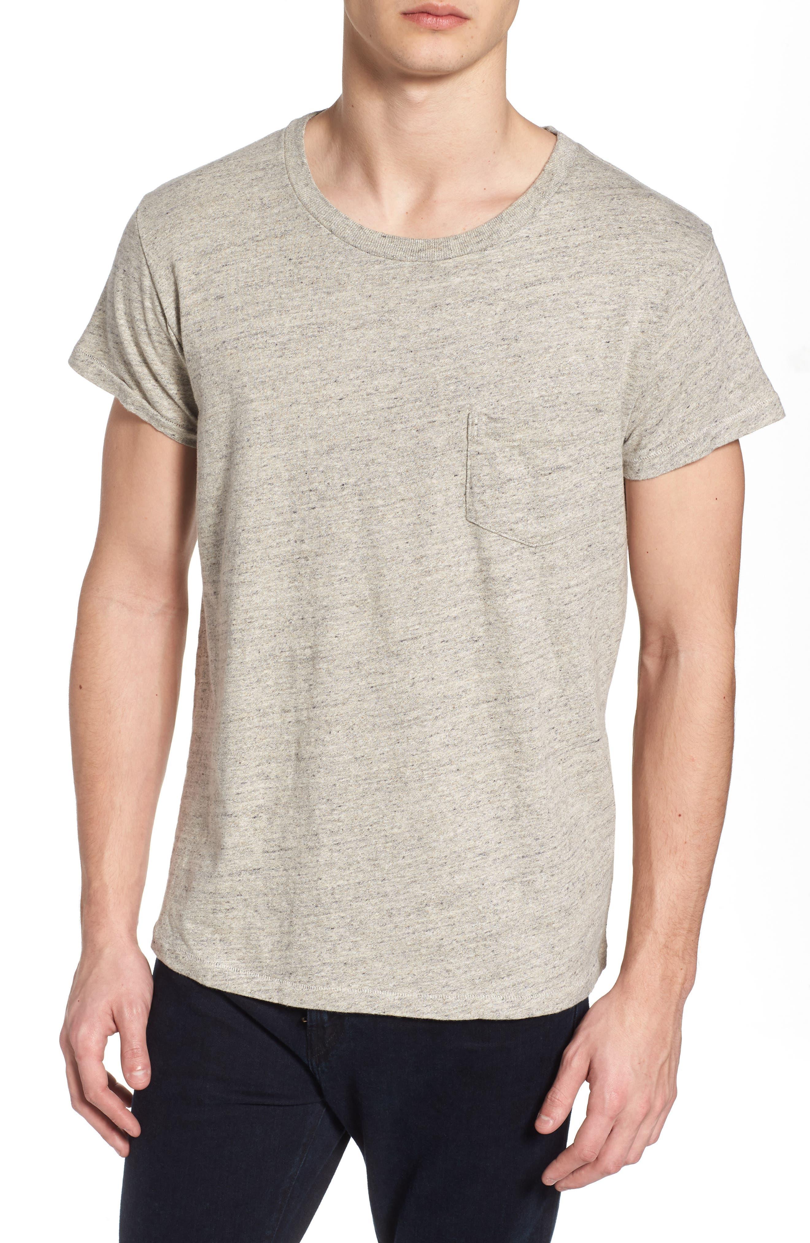 Levi's Vintage Clothing 1950s Sportswear Pocket T-Shirt,                             Main thumbnail 1, color,                             Grey