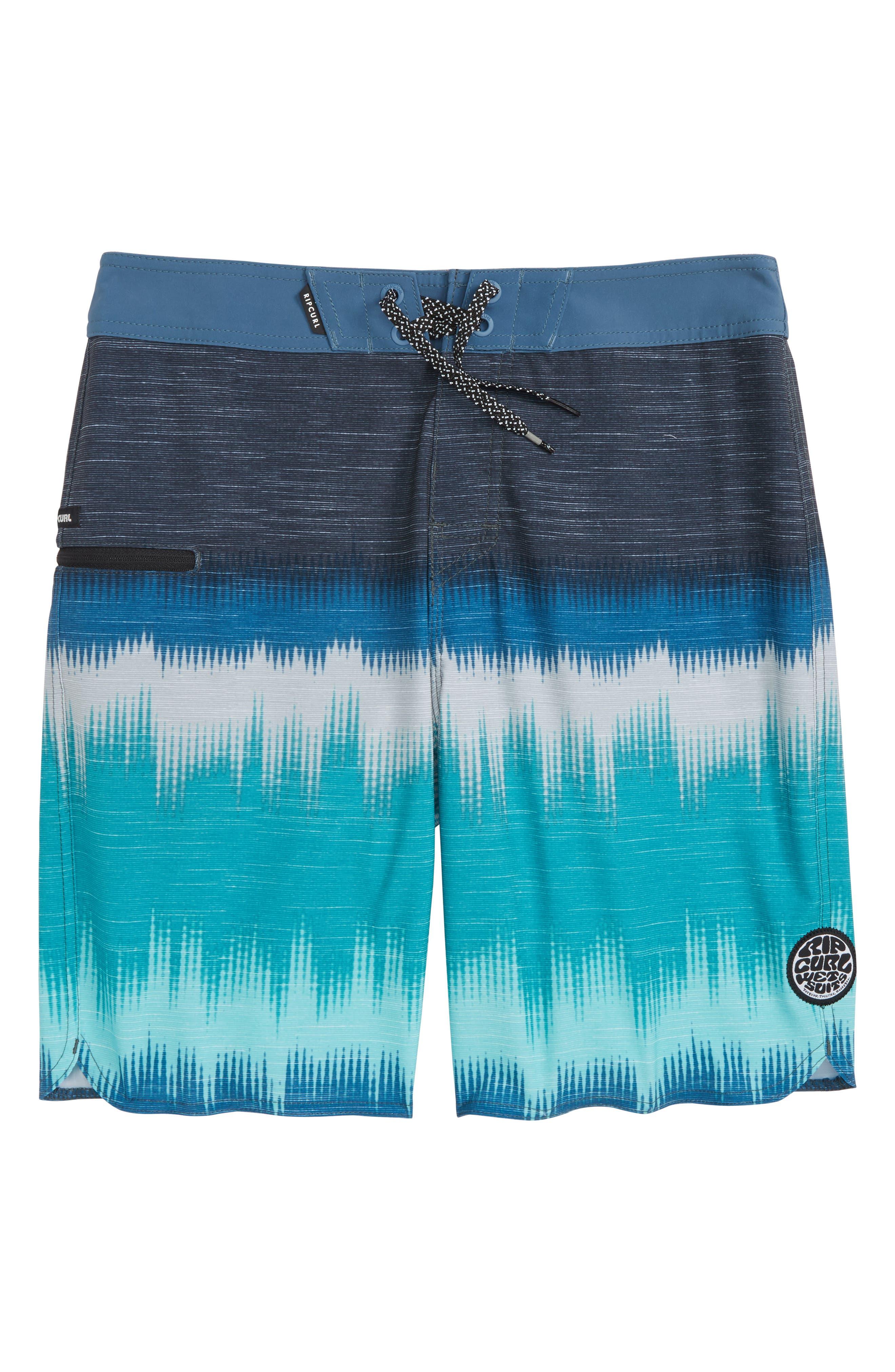 Mirage Shallows Board Shorts,                         Main,                         color, Teal